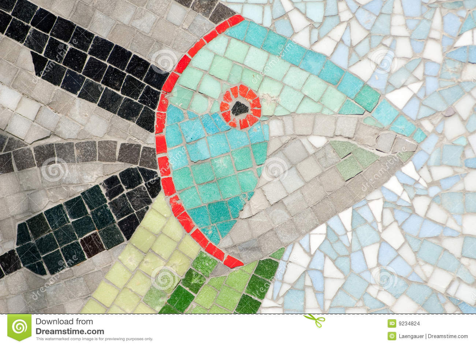 Underwater Mosaic Stock Images Image 9234824
