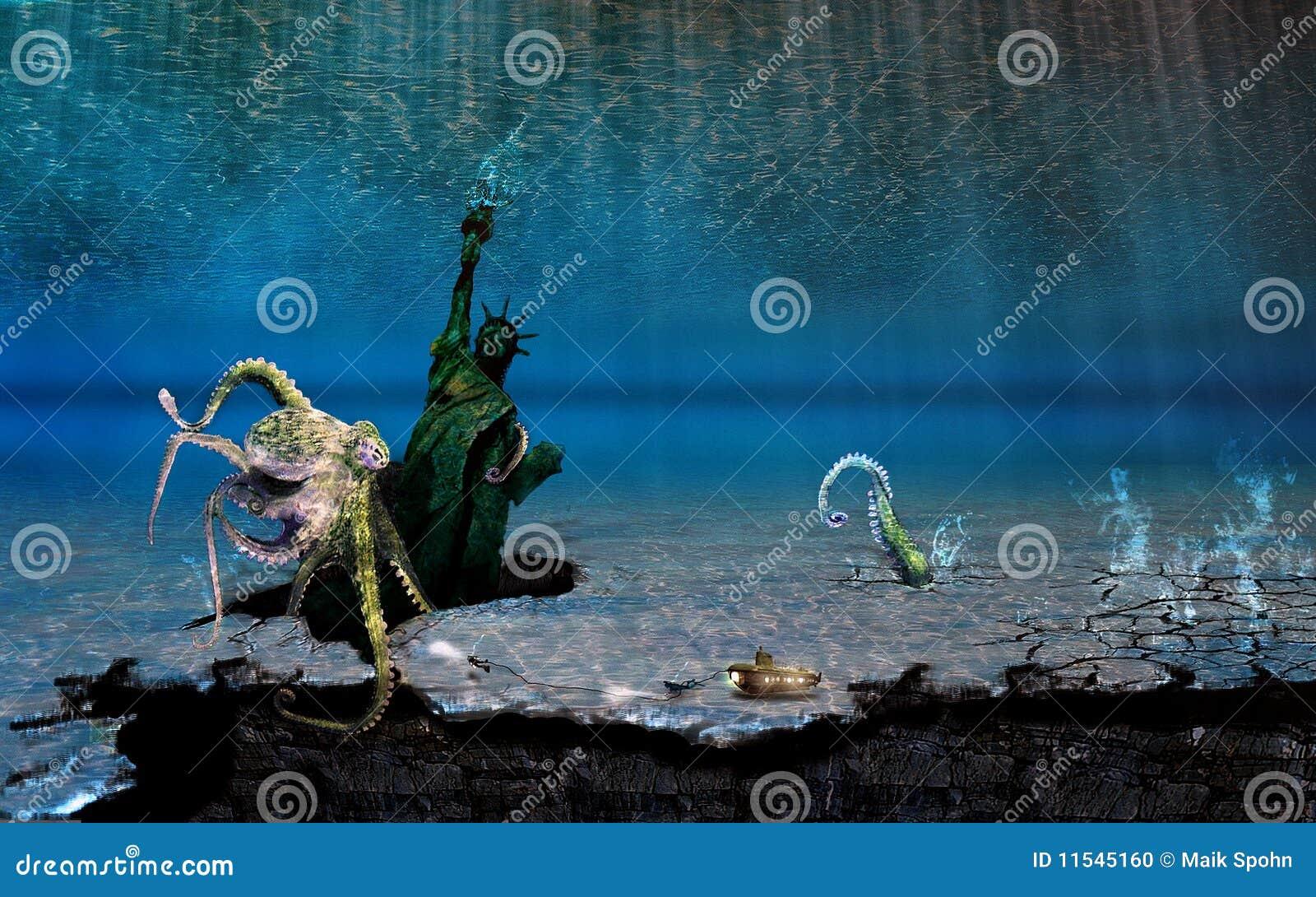 Underwater sightseeing tour