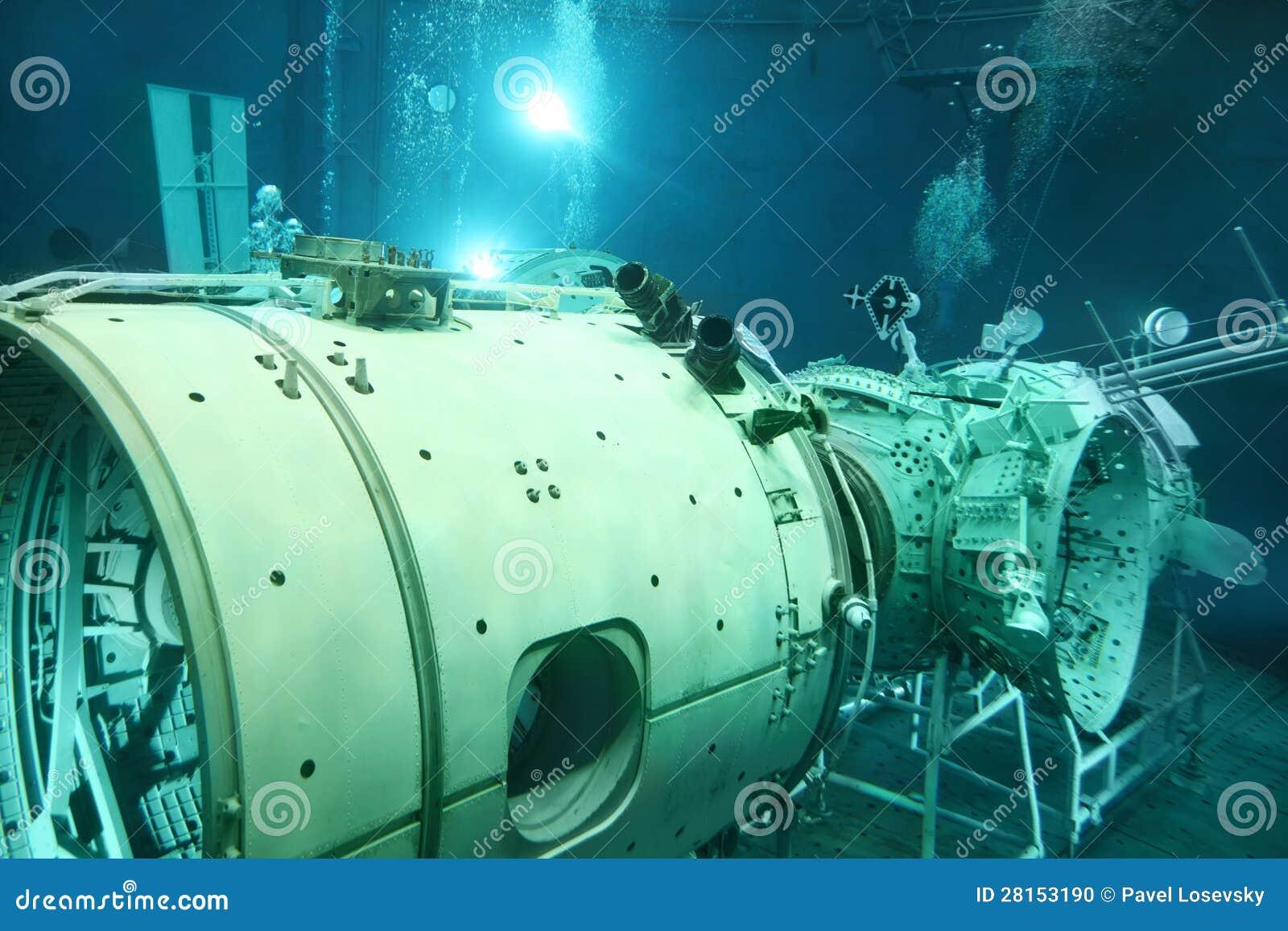 Underwater Space Simulator Editorial Image - Image: 28153190