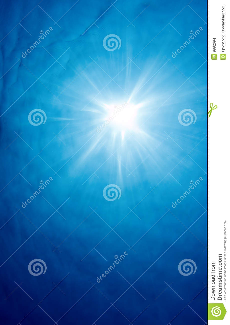 More similar stock images of underwater sun rays