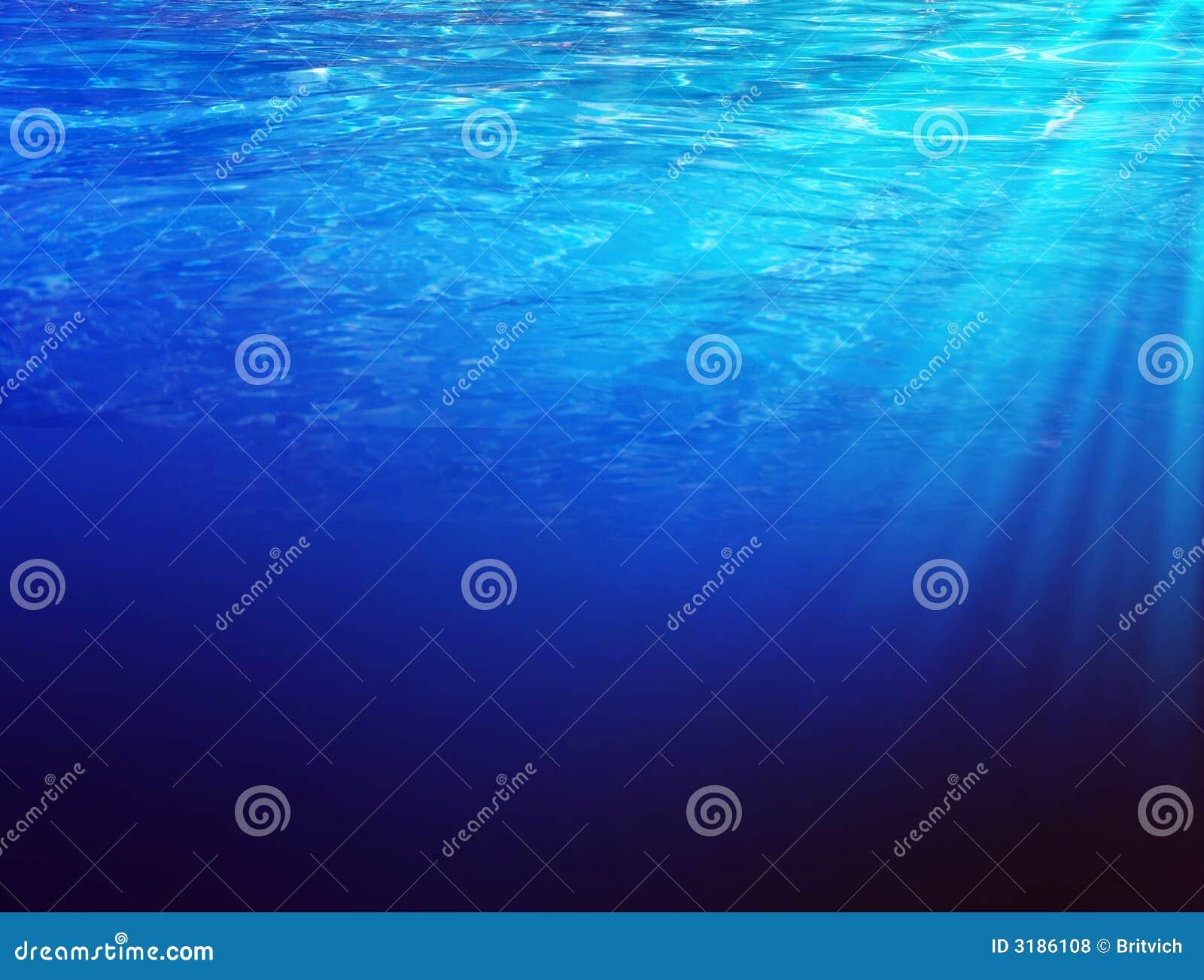Underwater sunbeems