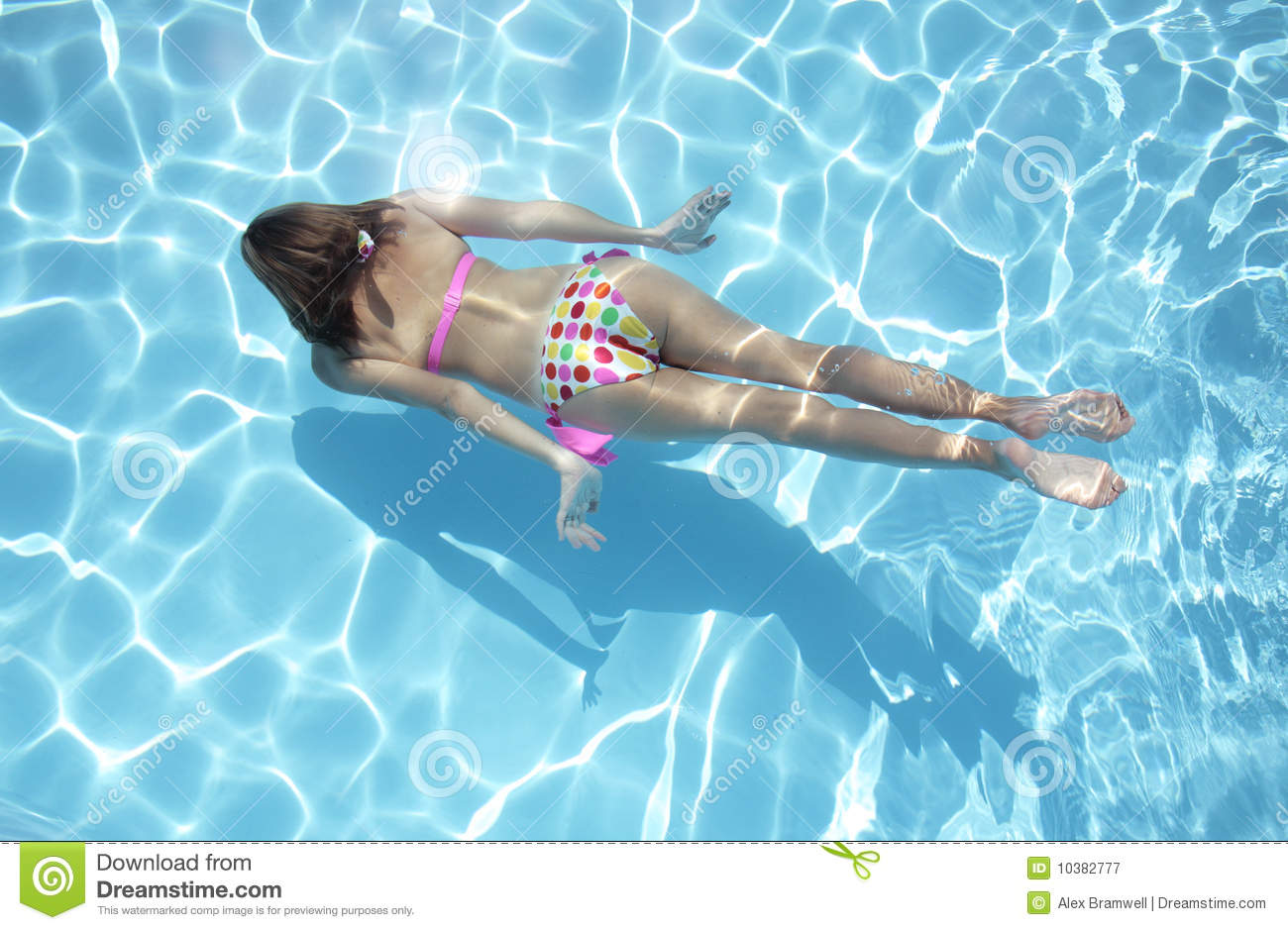 Underwater Swimmer Royalty Free Stock Photography - Image: 10382777