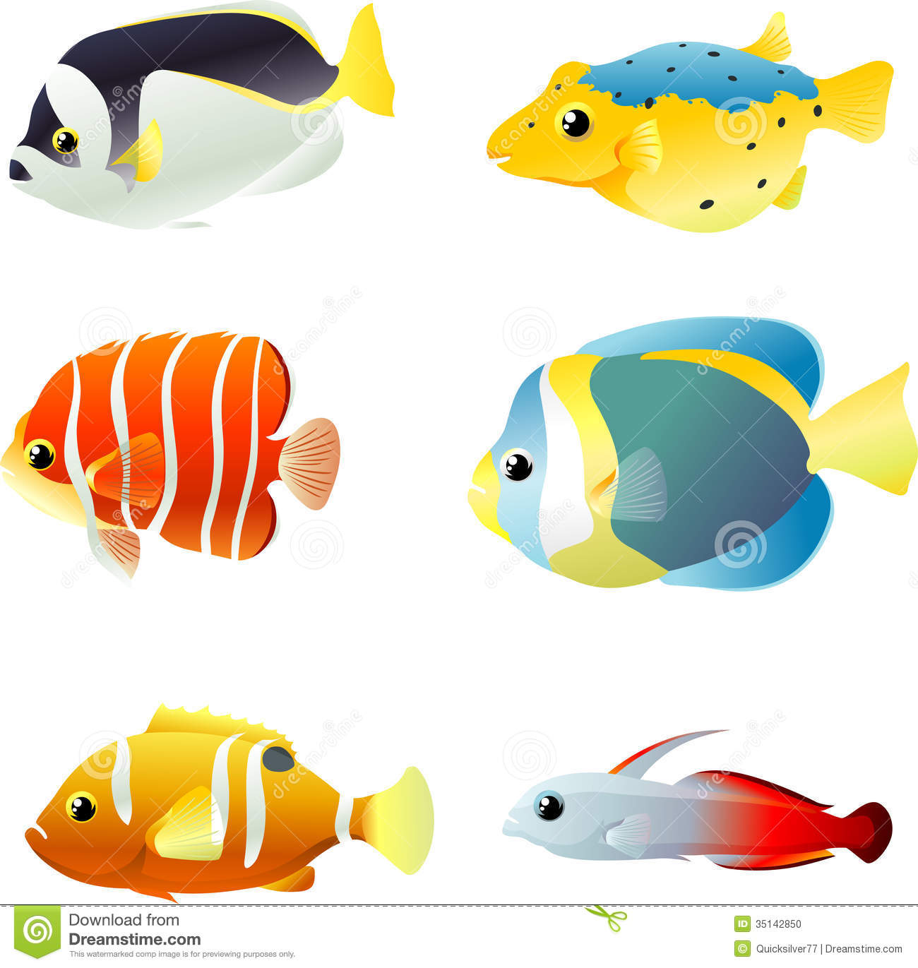 underwater tropical fishes stock photo image 35142850 sea creatures clip art free sea creatures clip art black and white