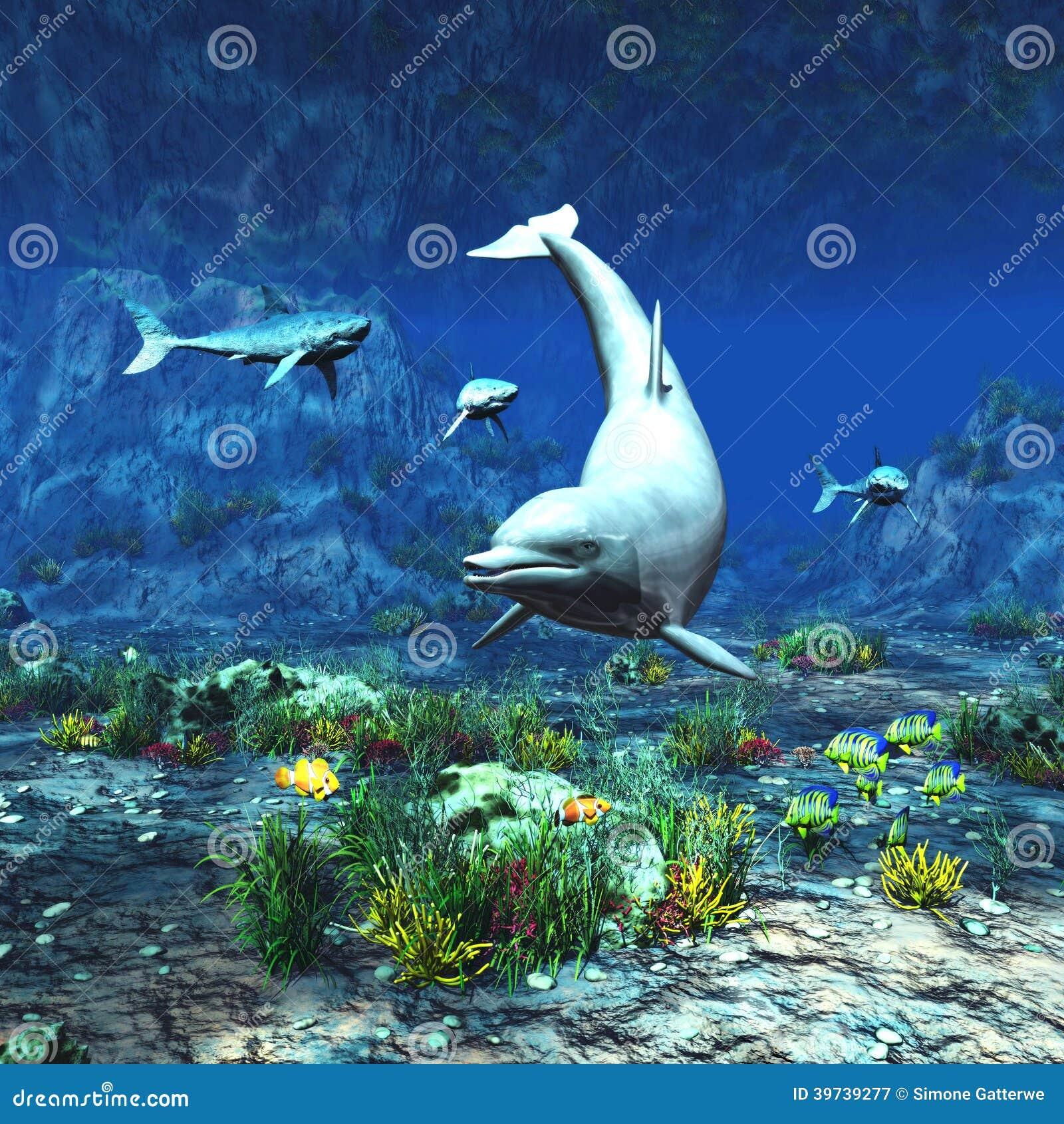 Beautiful Under... Underwater Fish Scene