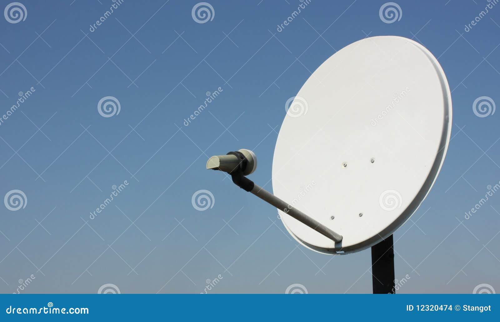 Une antenne de satellite