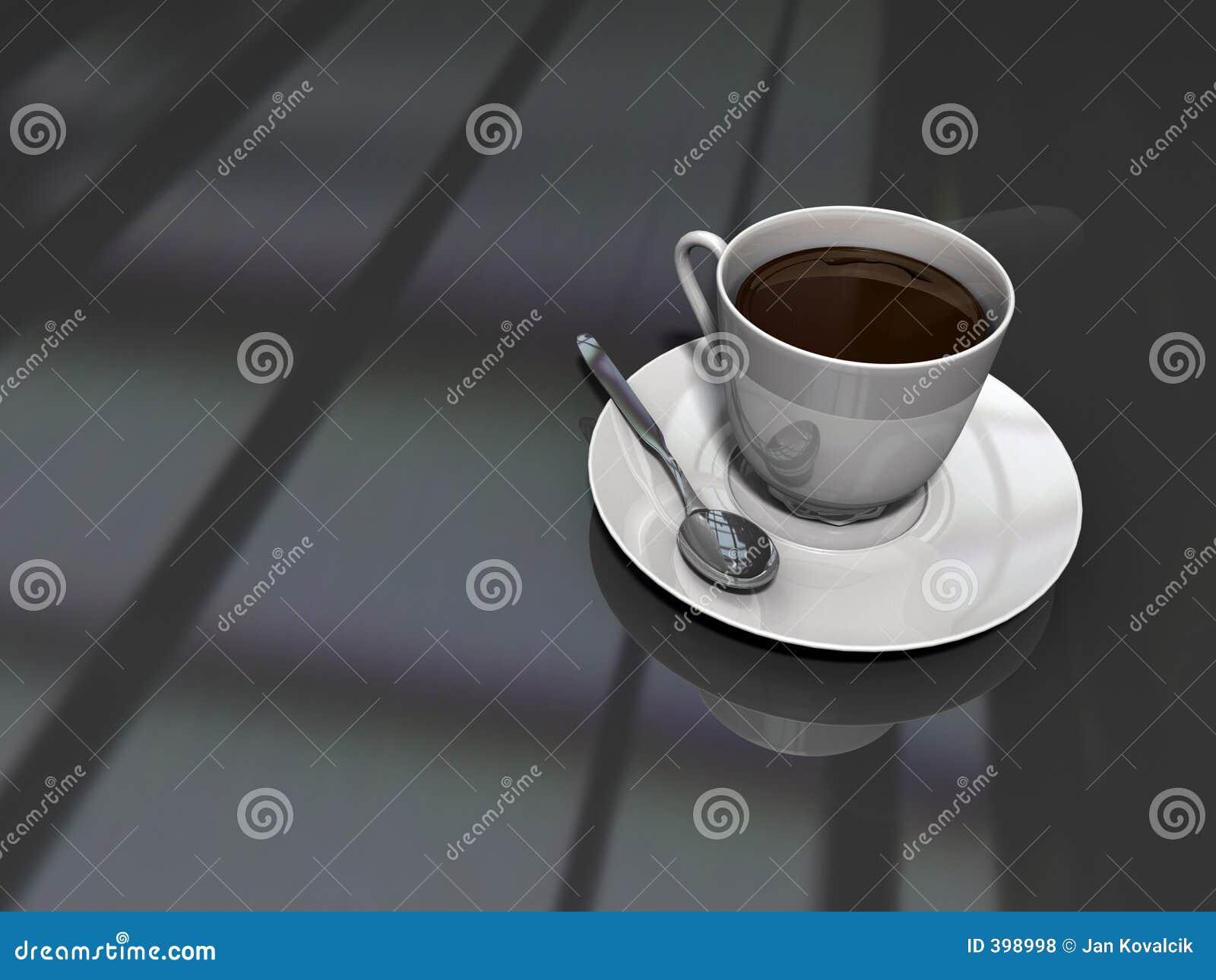 Une autre cuvette de café