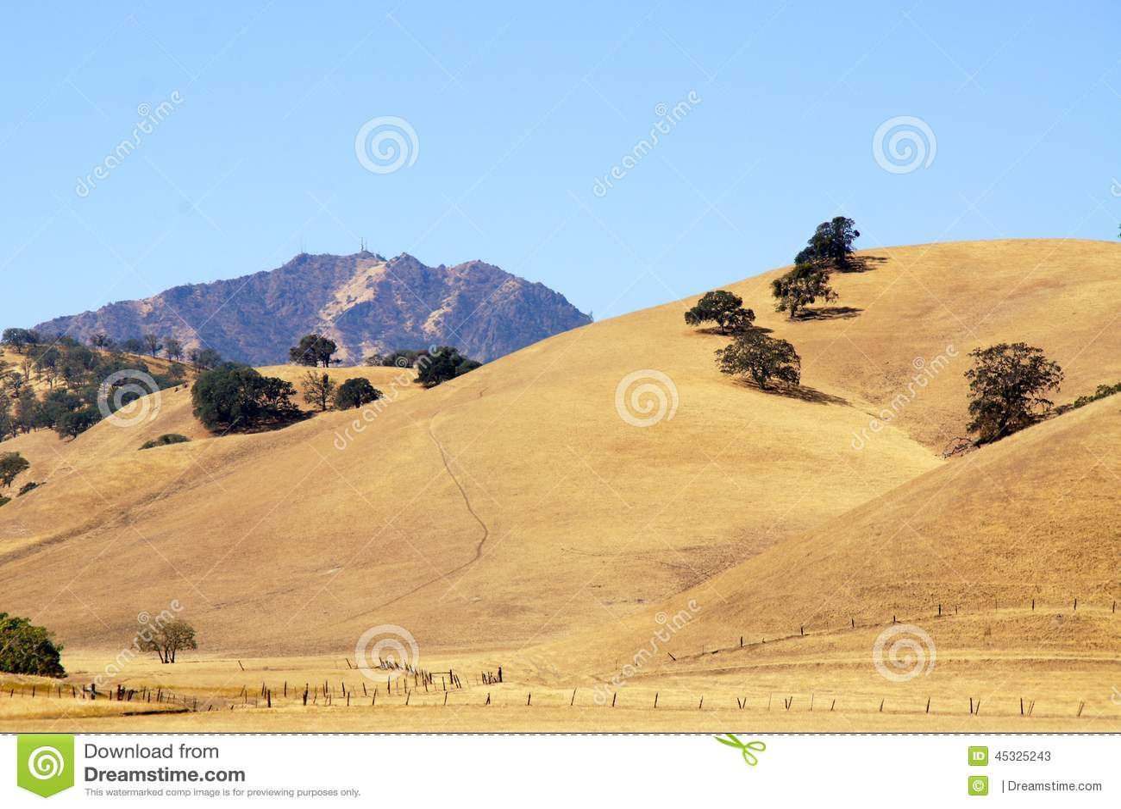 Une autre vue de Mt Diablo, Walnut Creek, CA