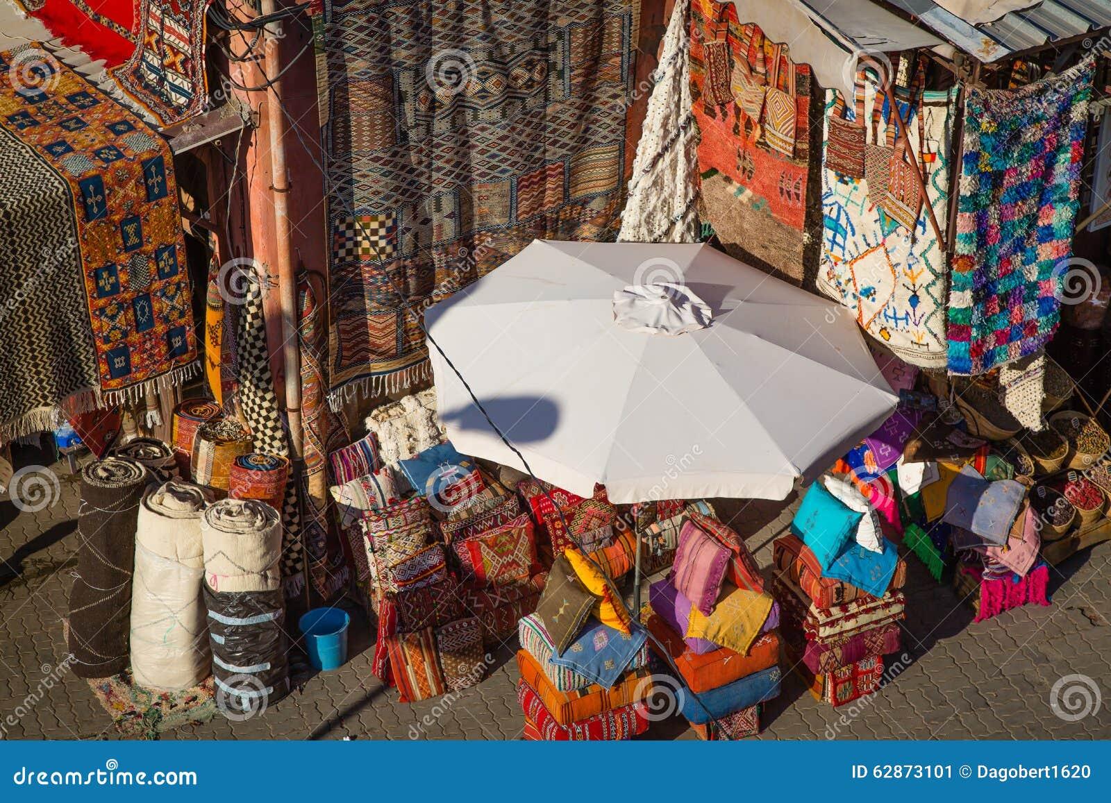 Une Boutique De Tapis Image Stock Image Du Colore Afrique 62873101