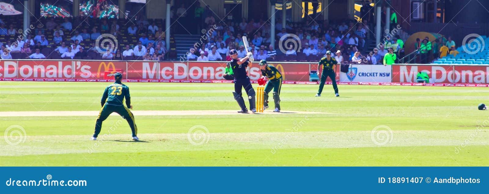 Une correspondance internationale de cricket de jour entre Austra