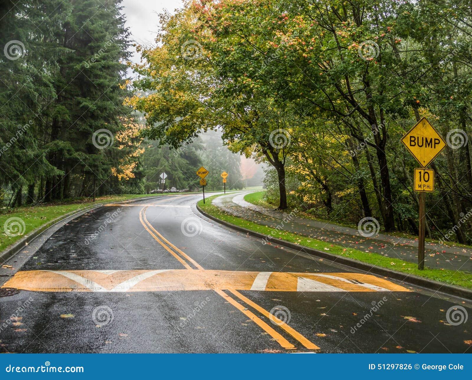 Une courbe dans la route