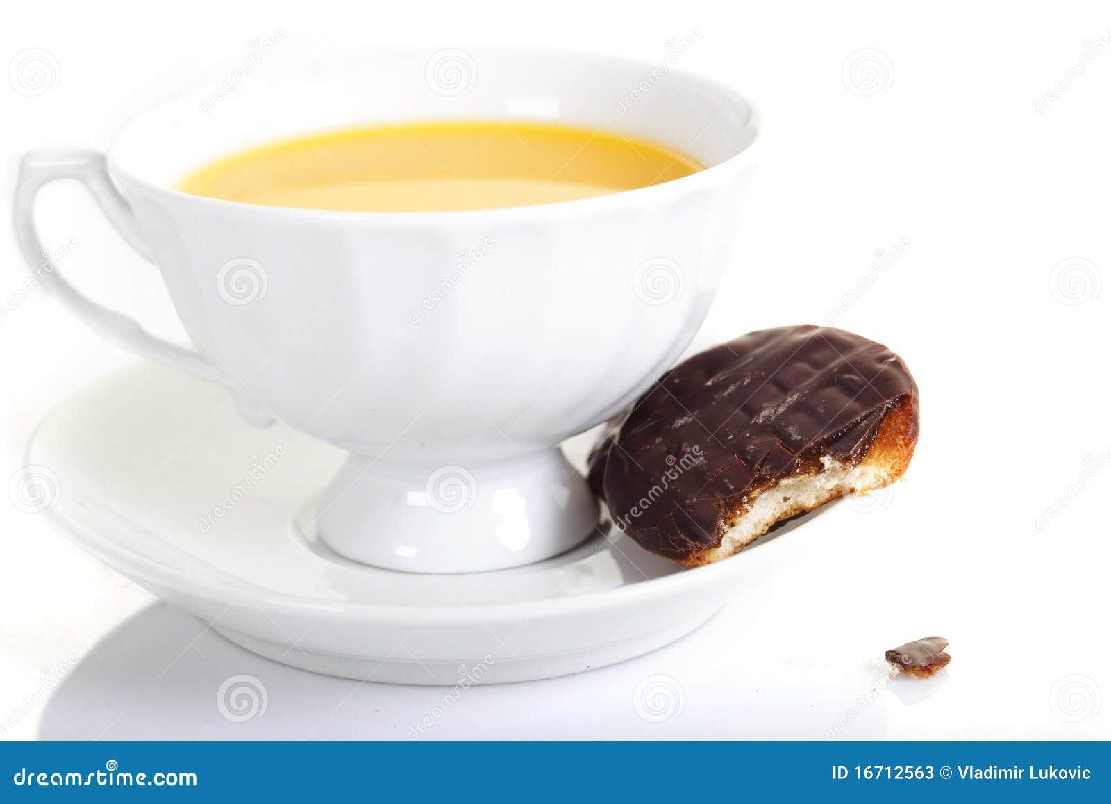 Une cuvette de thé