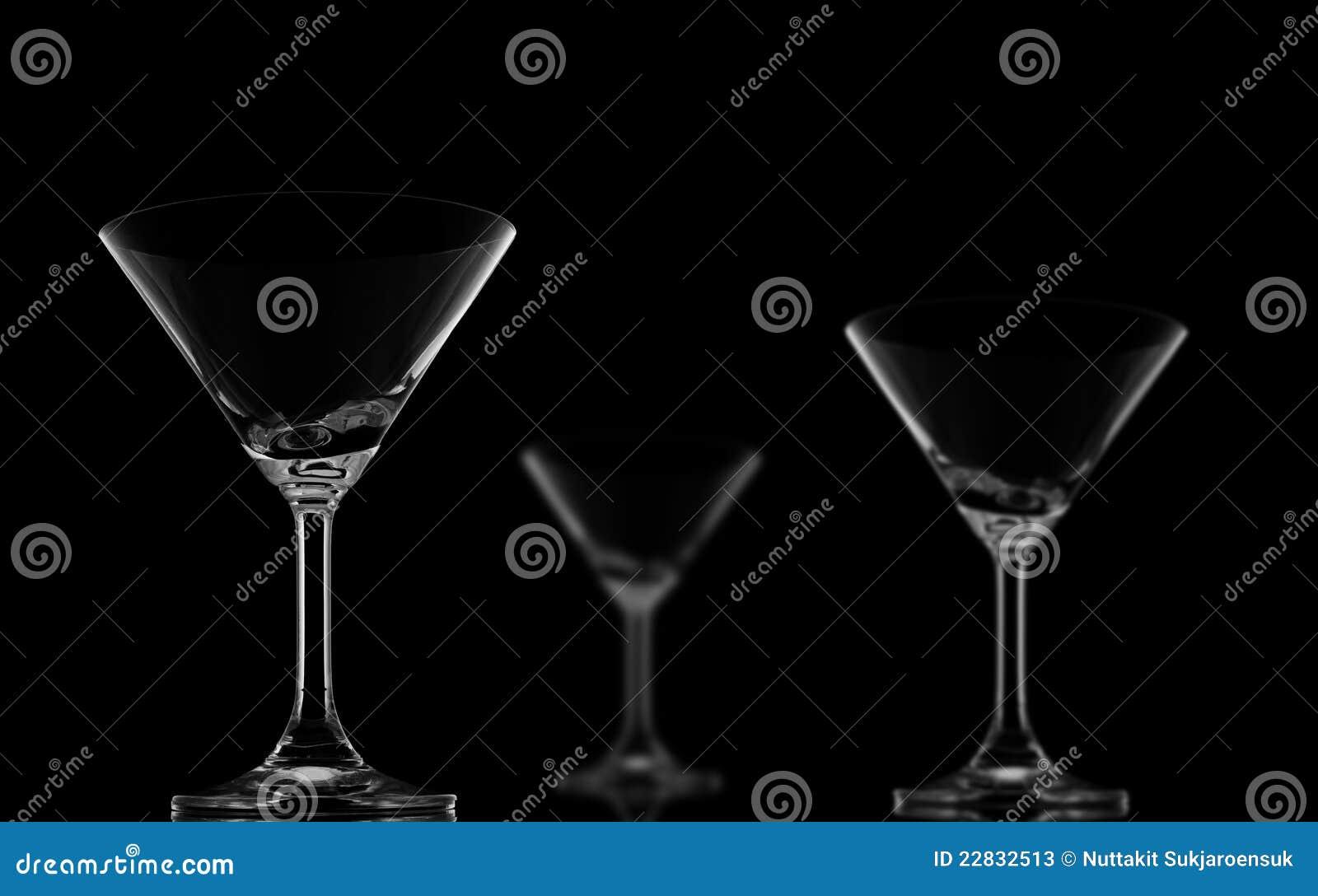 Une deux de tache floue de cocktail glaces pointues et sur le noir image stock image du - Tache de javel sur du noir ...