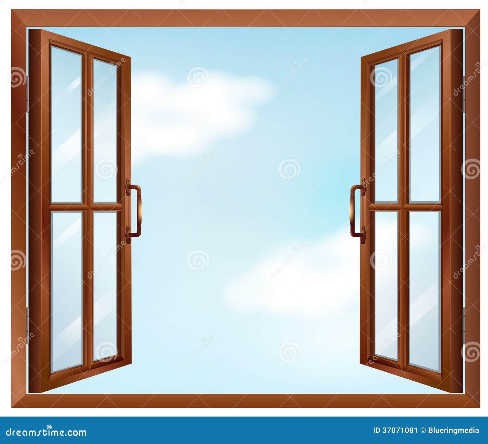 Une fen tre de maison image stock image 37071081 for Fenetre maison