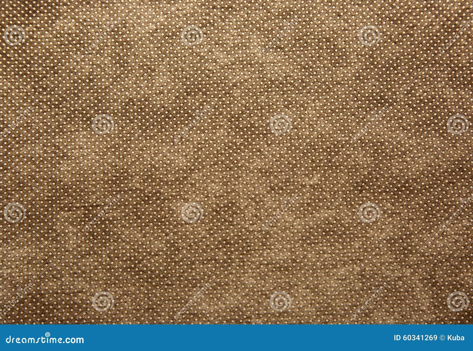 Une feuille de profondément, grossièrement textile tissé dans la couleur brune Texture