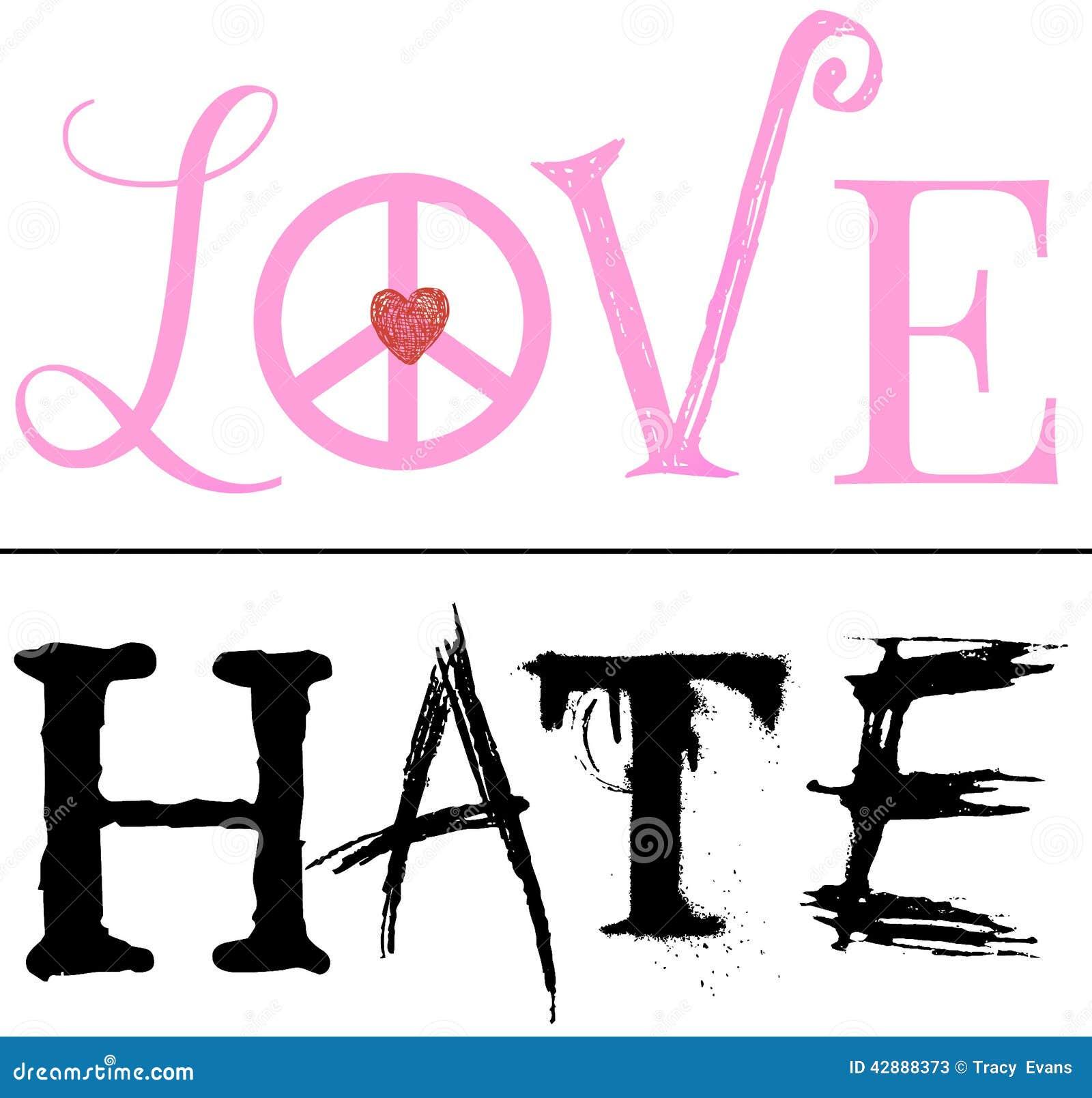 Une ligne fine entre l amour et la haine