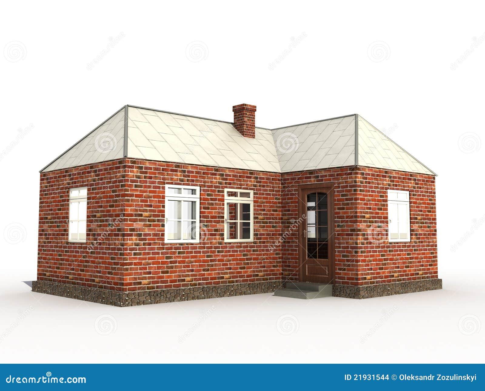 Une maison â1 de brique
