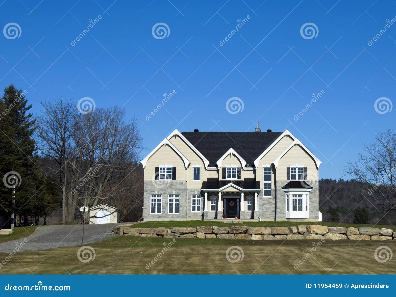 Une Maison Canadienne Images Libres De Droits Image