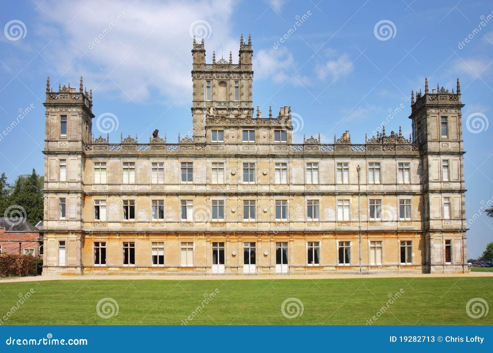 Une maison majestueuse anglaise