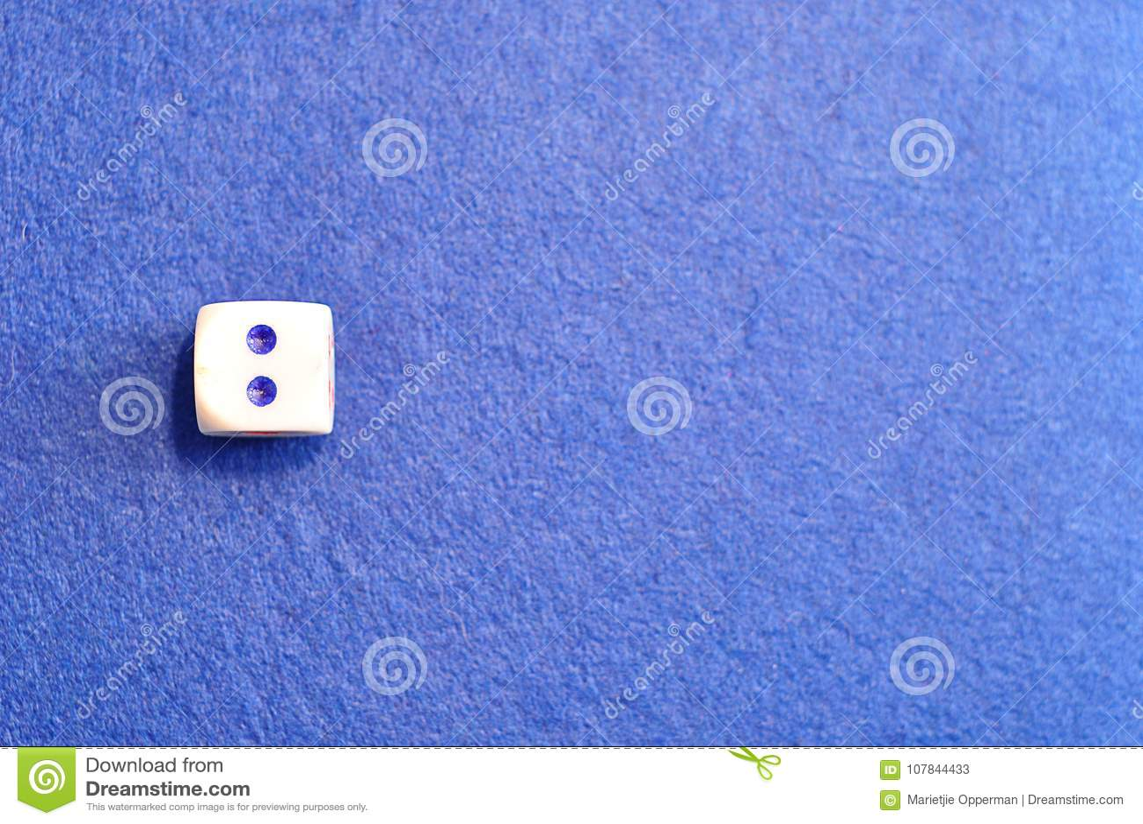 Une matrice simple avec le numéro deux