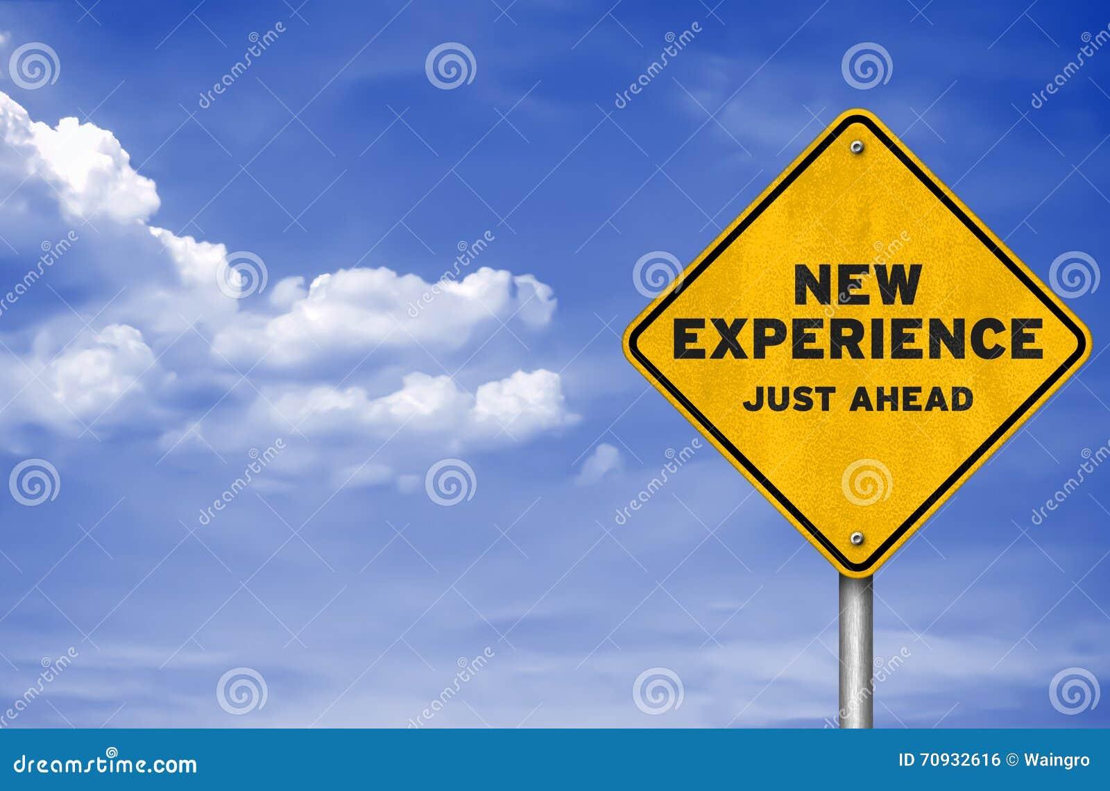 8273700a91025 Une nouvelle expérience illustration stock. Illustration du travail ...