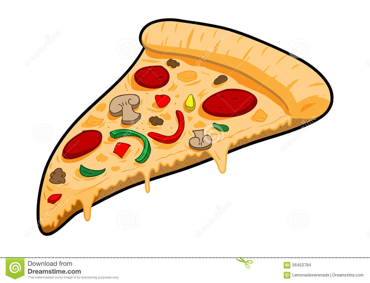 une part de pizza illustration de vecteur illustration du pizza slice clipart no background clipart pizza slice black and white