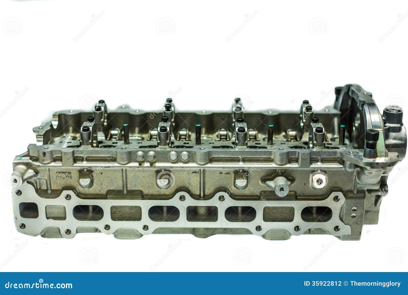 une partie du moteur de voiture valve quatre dans la t te pour chaque cylindre photographie. Black Bedroom Furniture Sets. Home Design Ideas