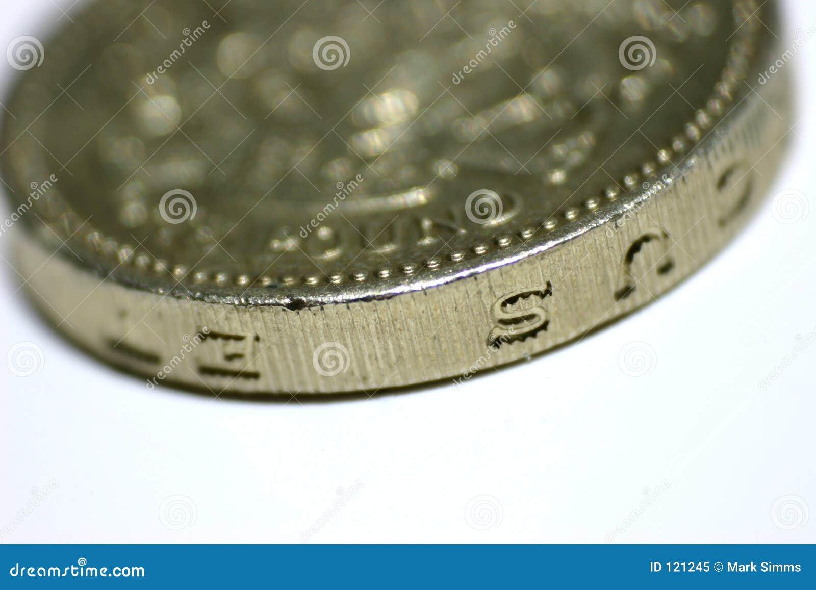 Une pièce de monnaie de livre