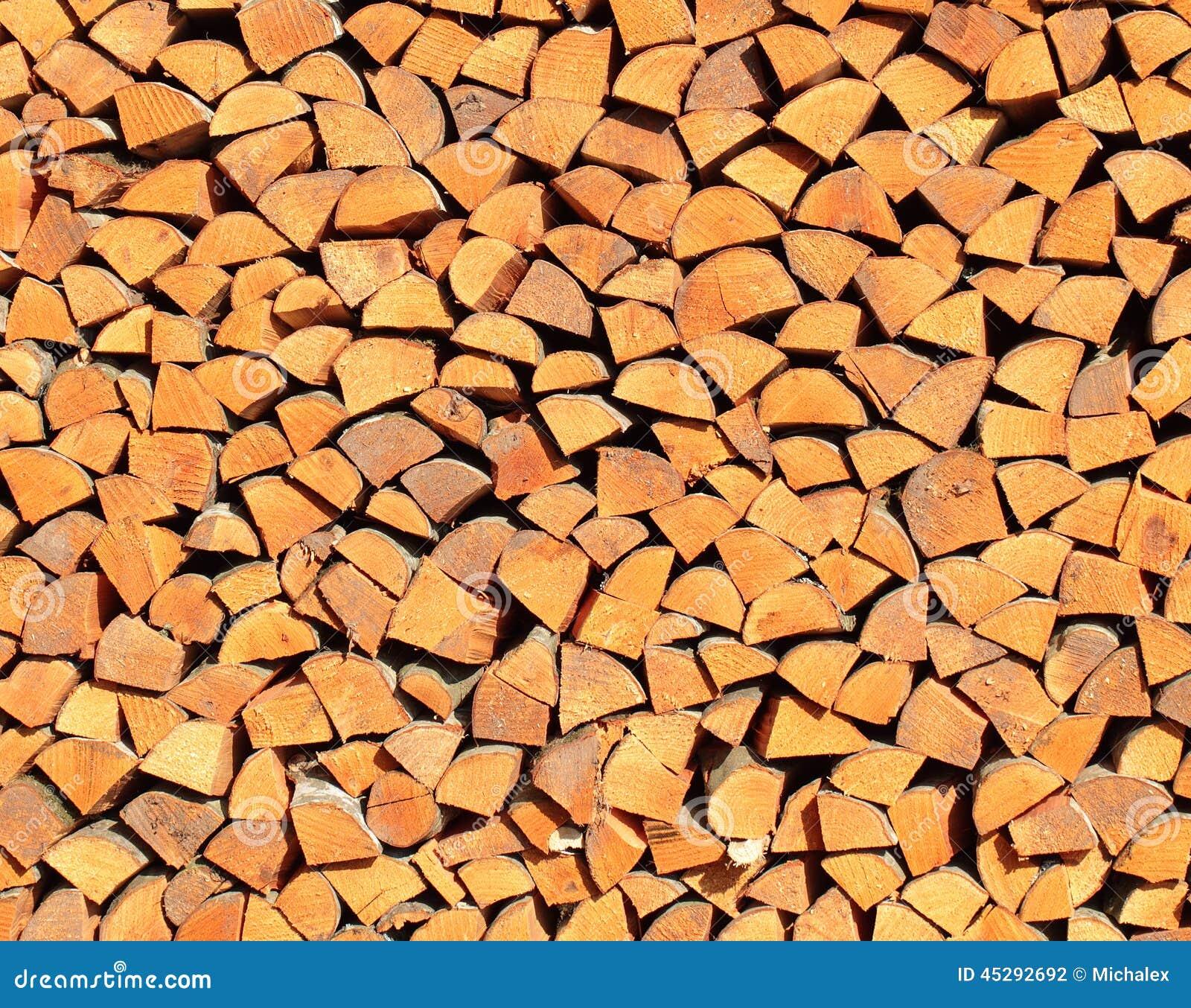 une pile de bois de chauffage de tremble photo stock image du partie rural 45292692. Black Bedroom Furniture Sets. Home Design Ideas