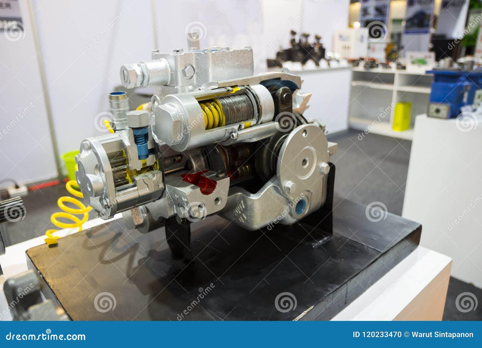 Une pompe à piston pour l équipement résistant