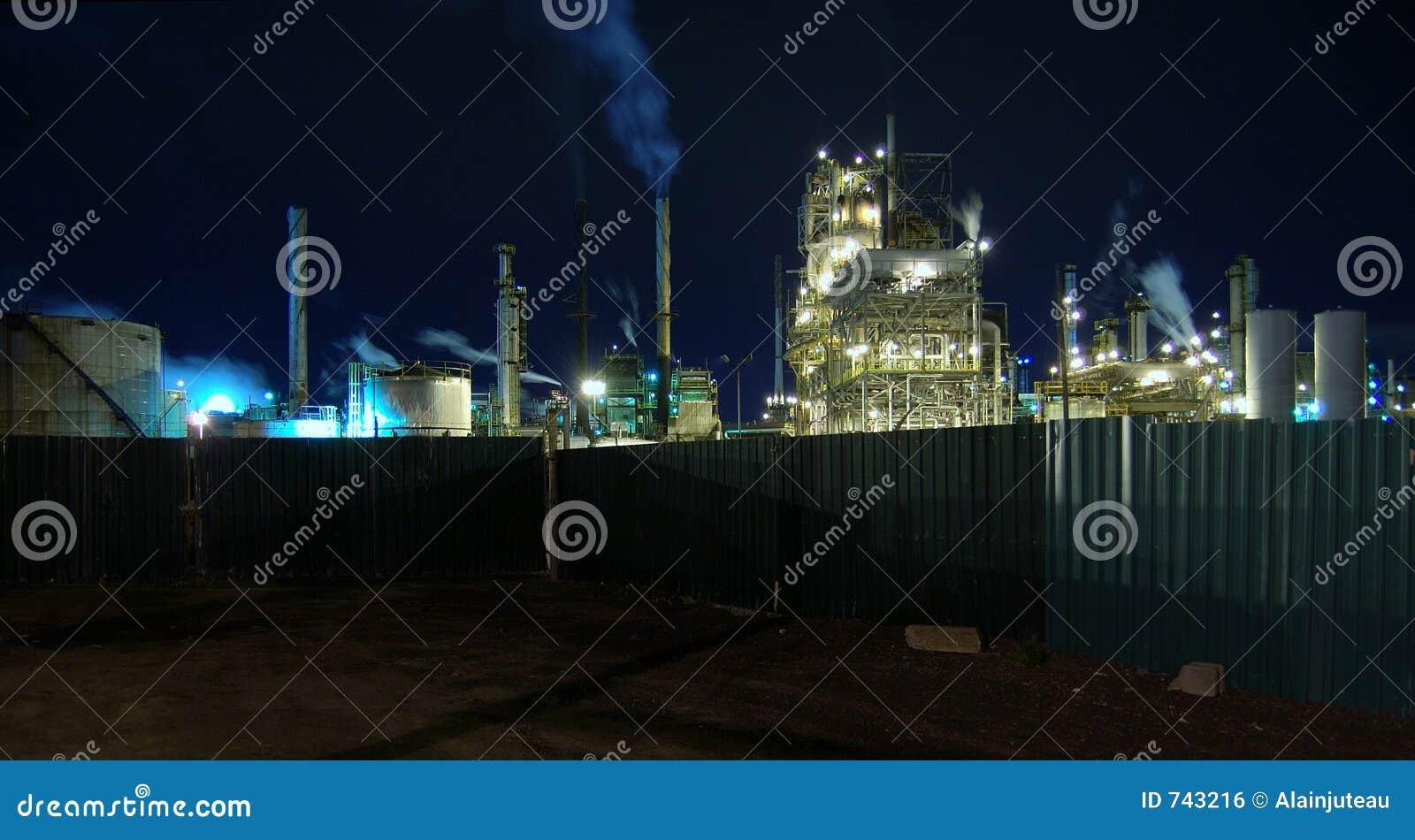 Une raffinerie dans mon arrière-cour