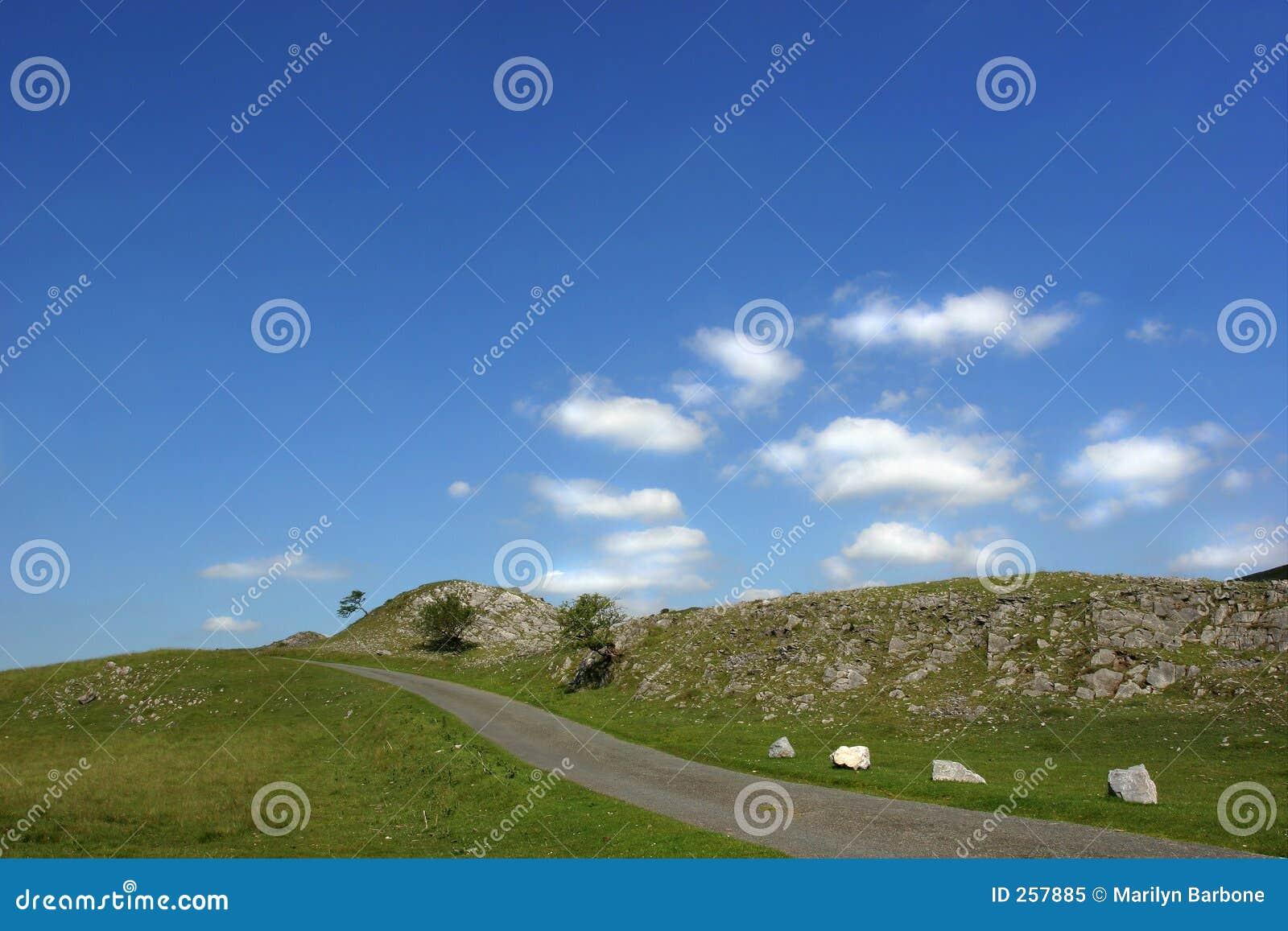 Une route de montagne