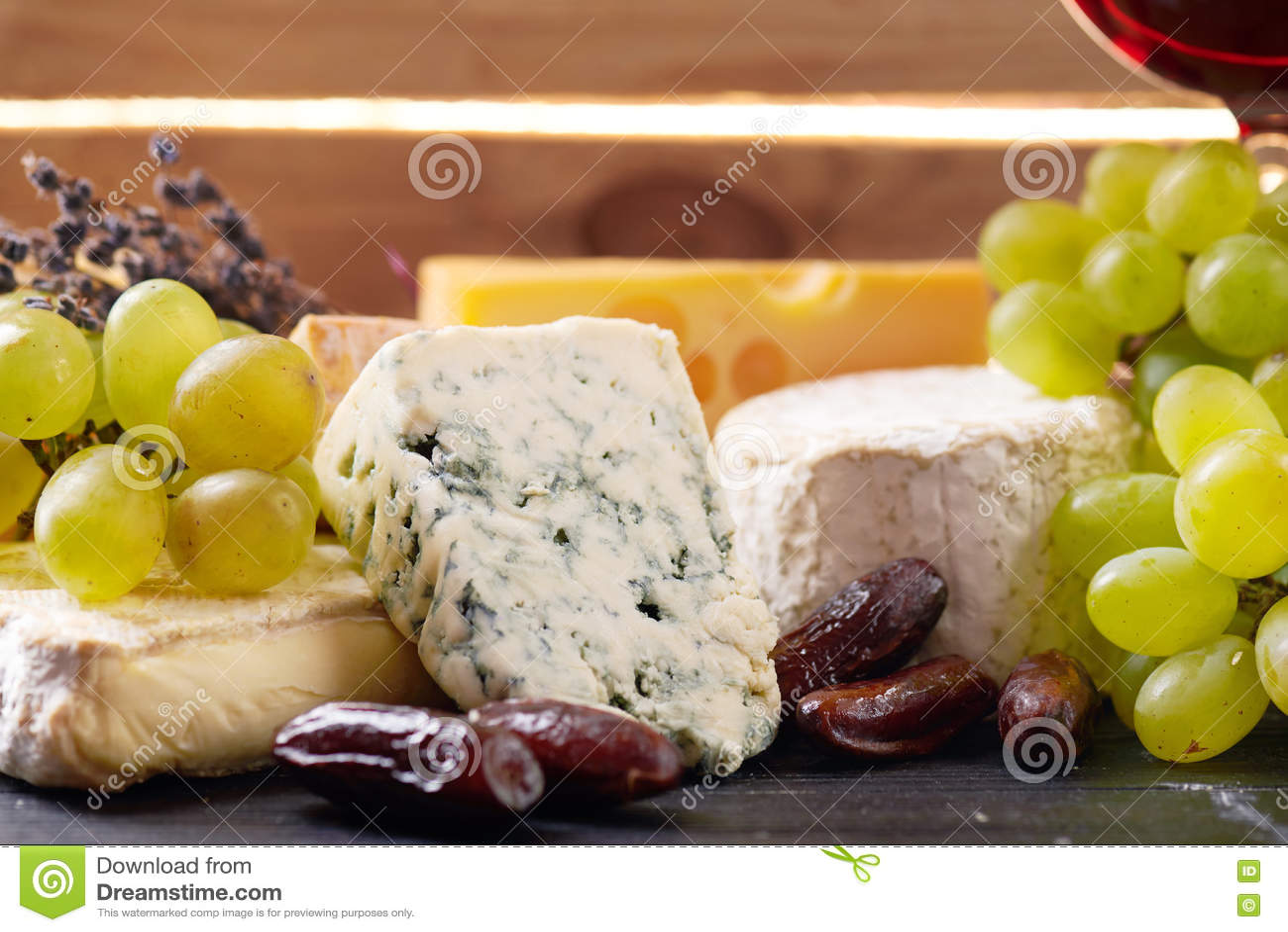 Une sélection de fromage fin