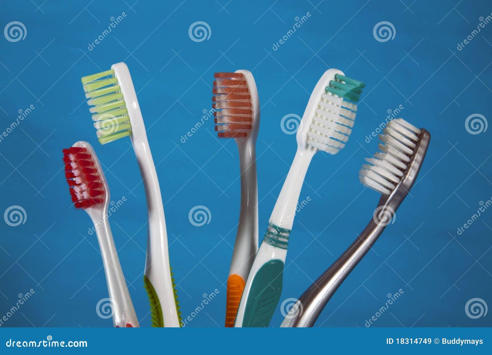 Une sélection des brosses à dents