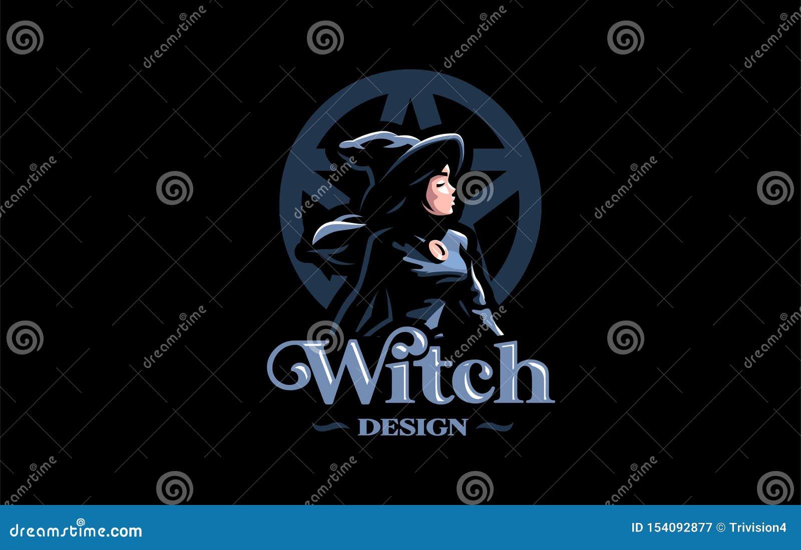 Une sorcière dans le chapeau d une sorcière