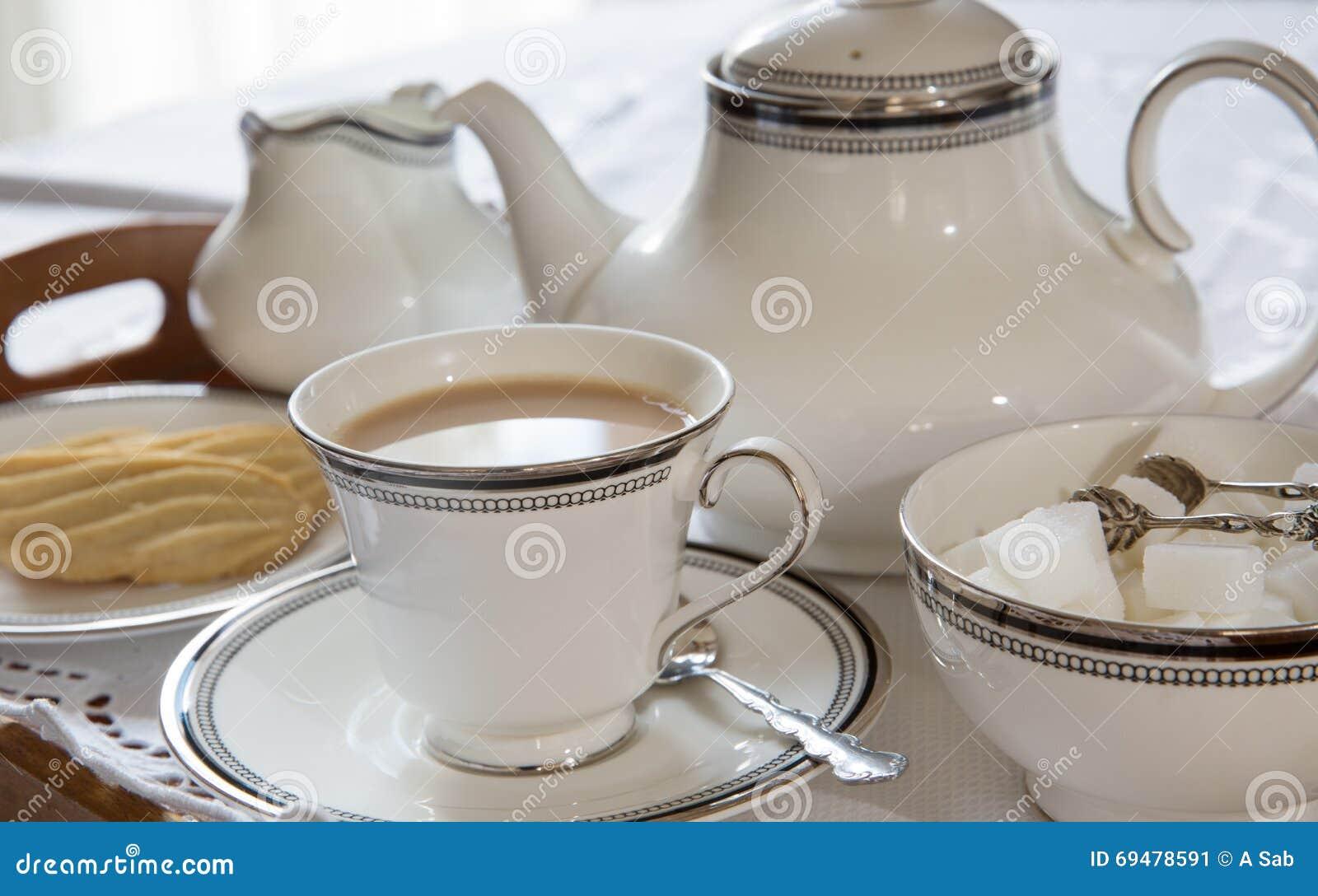 Une tasse anglaise de thé