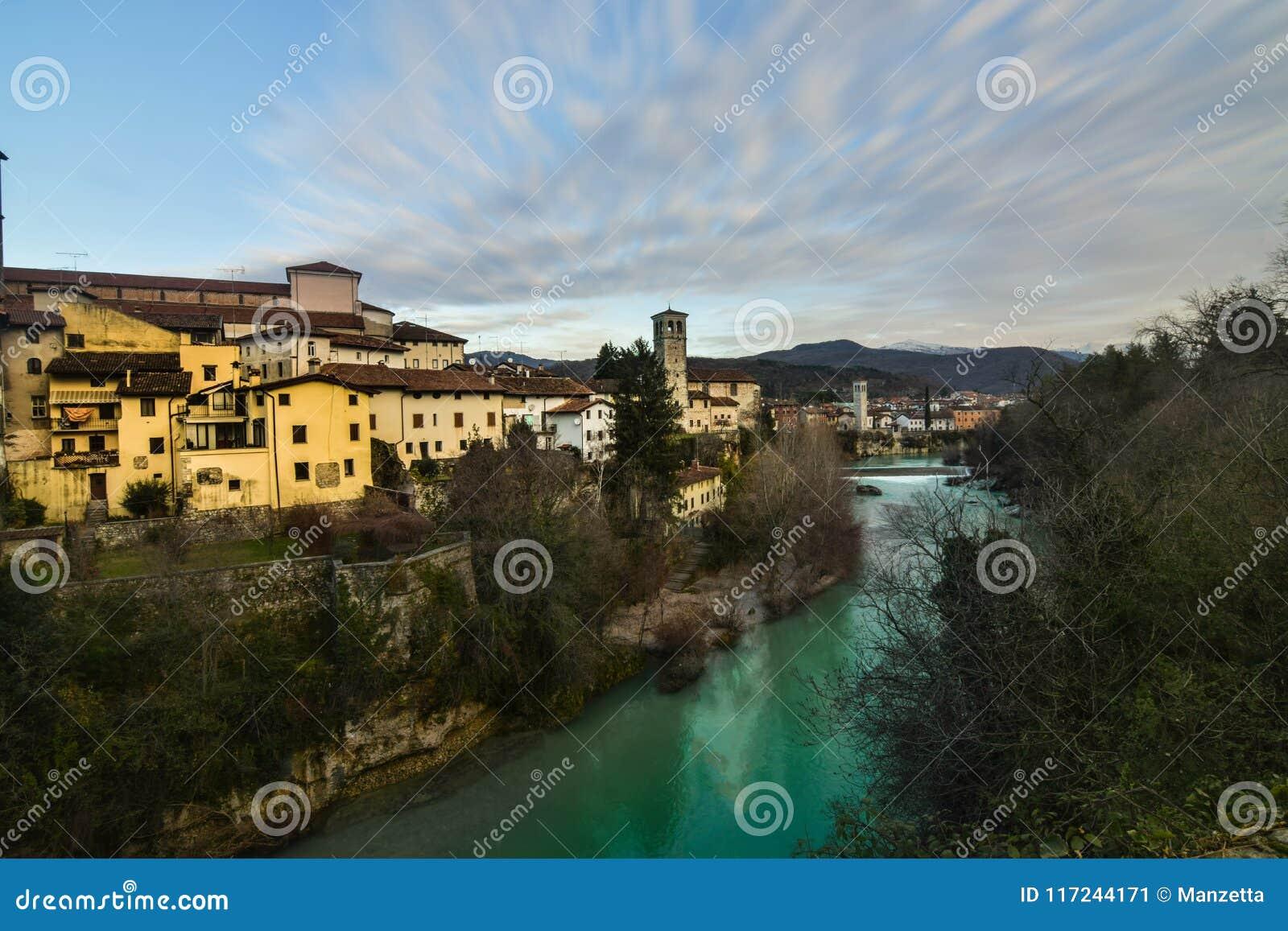 Une vue de Cividale del Friuli, Italie