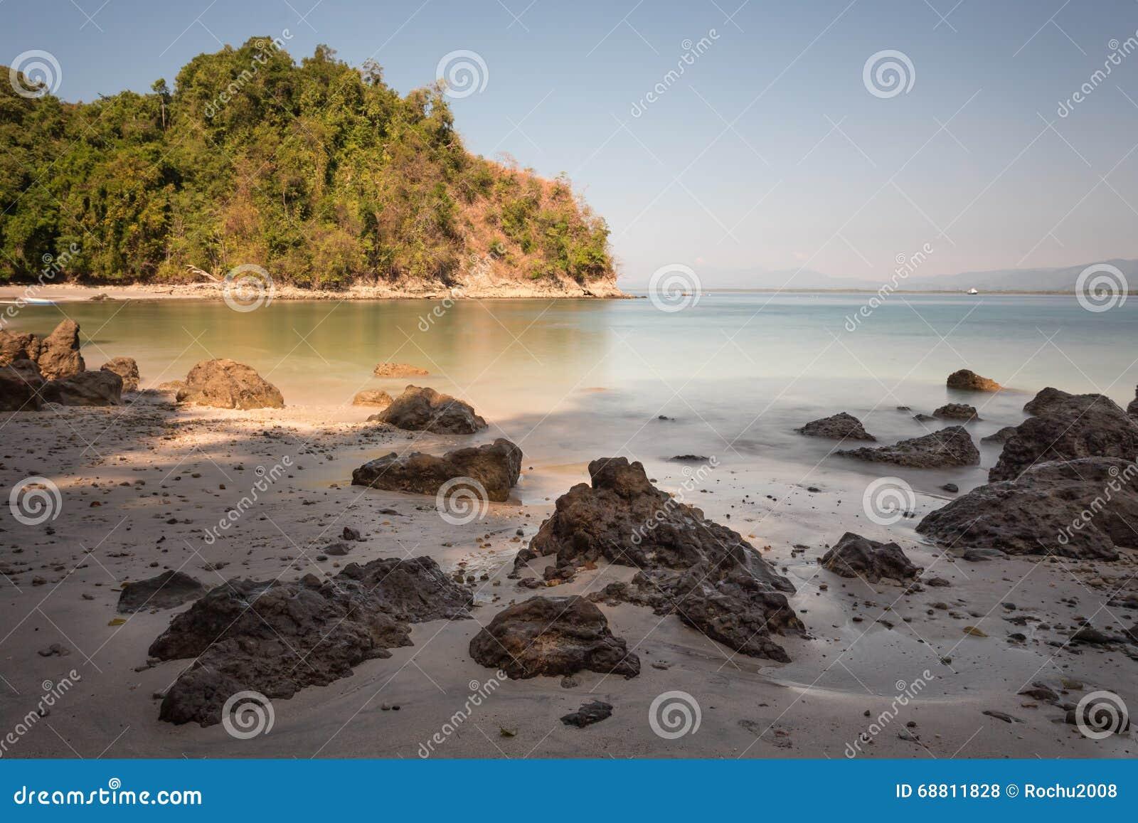 Populaire Une Vue De La Plage Des Caraïbes Au Costa Rica - Paysage Photo  TM14