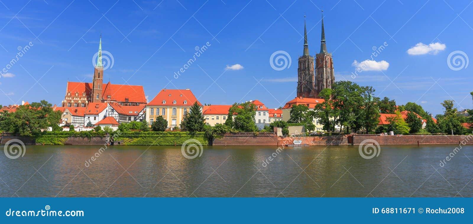 Une vue de Wroclaw poland