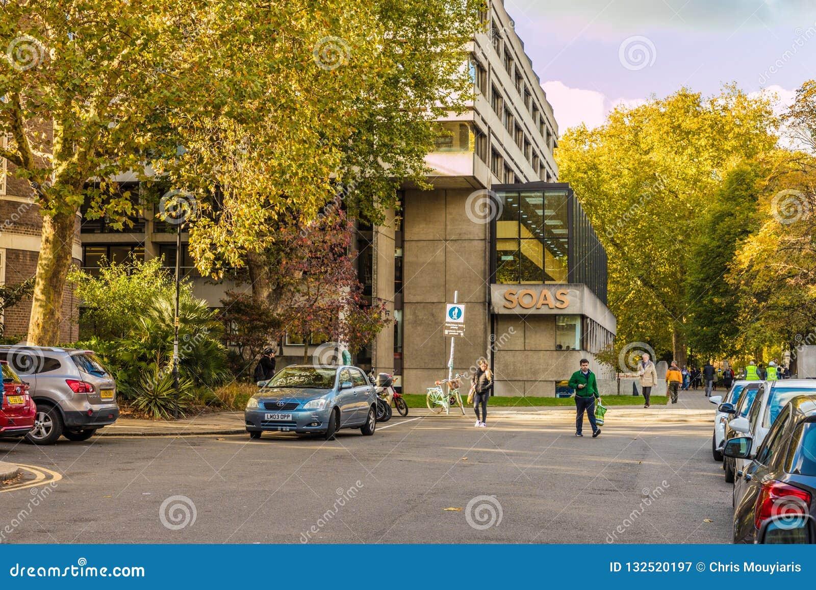 Une vue typique à Londres