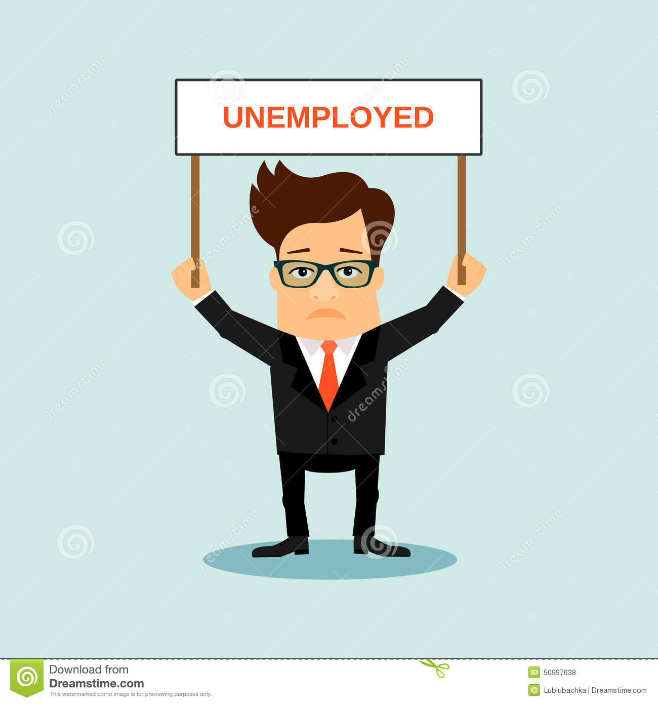 unemployed business men holding boardr with sign stock vector image 50997638 clipart money sign clipart money sign