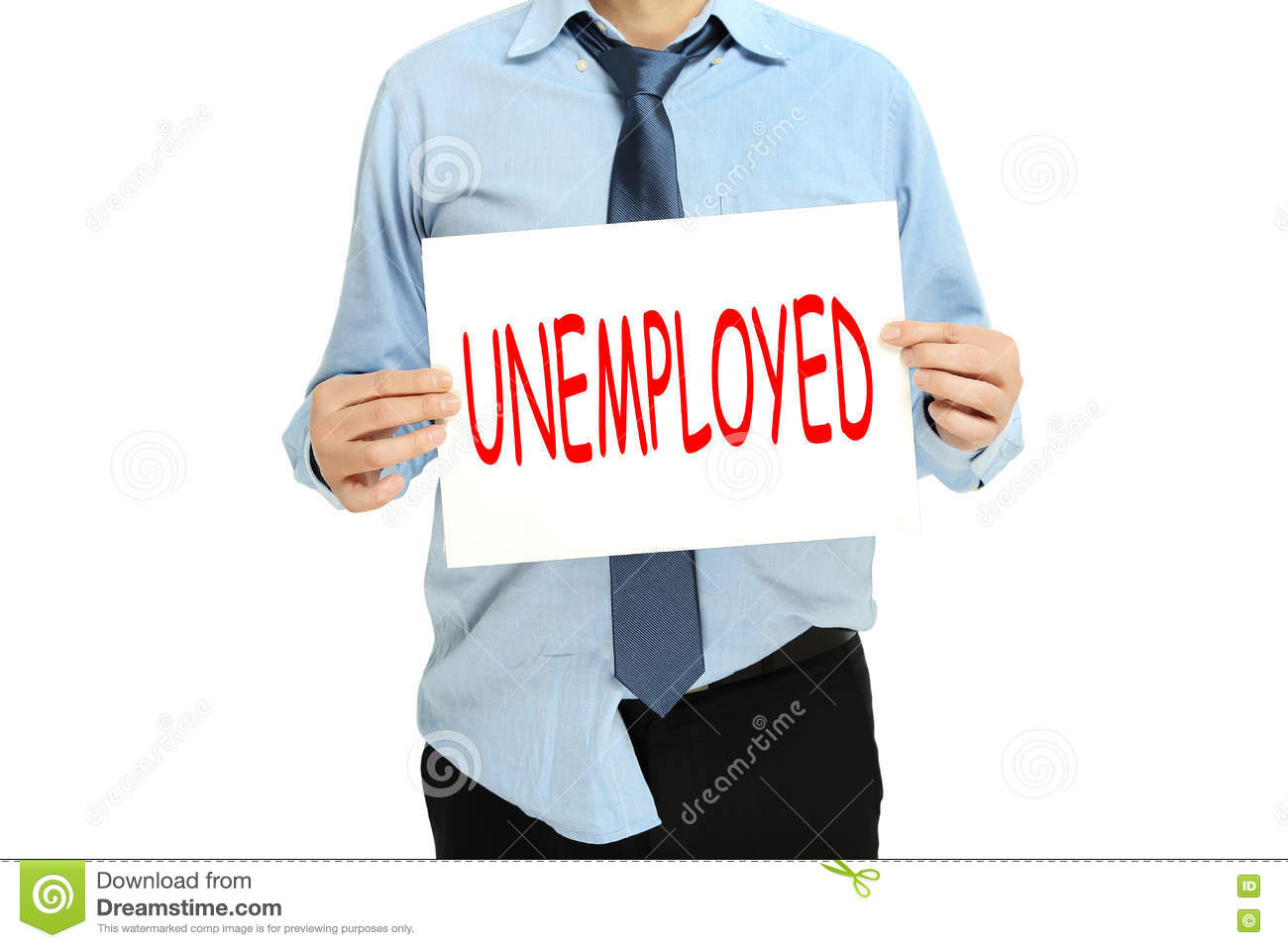 Unemployed Person Unemployed person stoc...