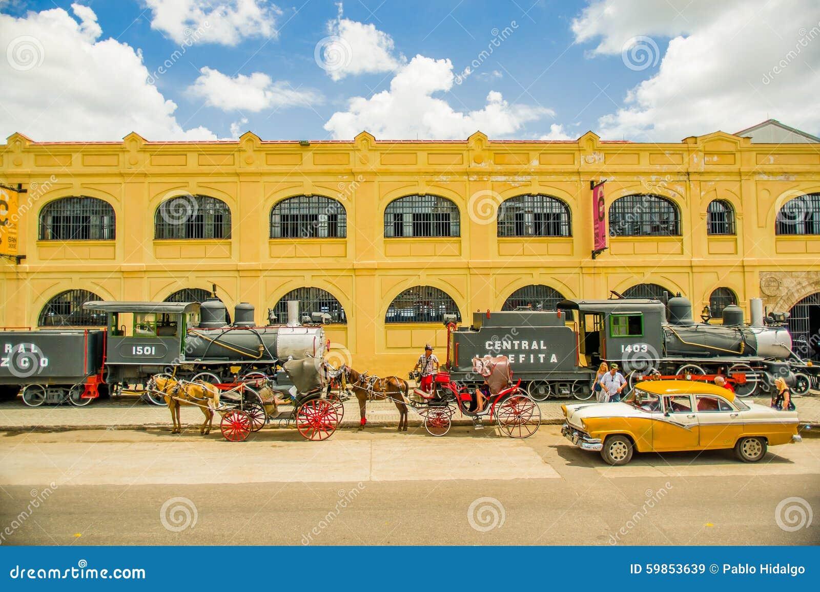 Colonial Auto Center >> Unesco Declared Historic Center Of Havana Royalty-Free Stock Photography | CartoonDealer.com ...