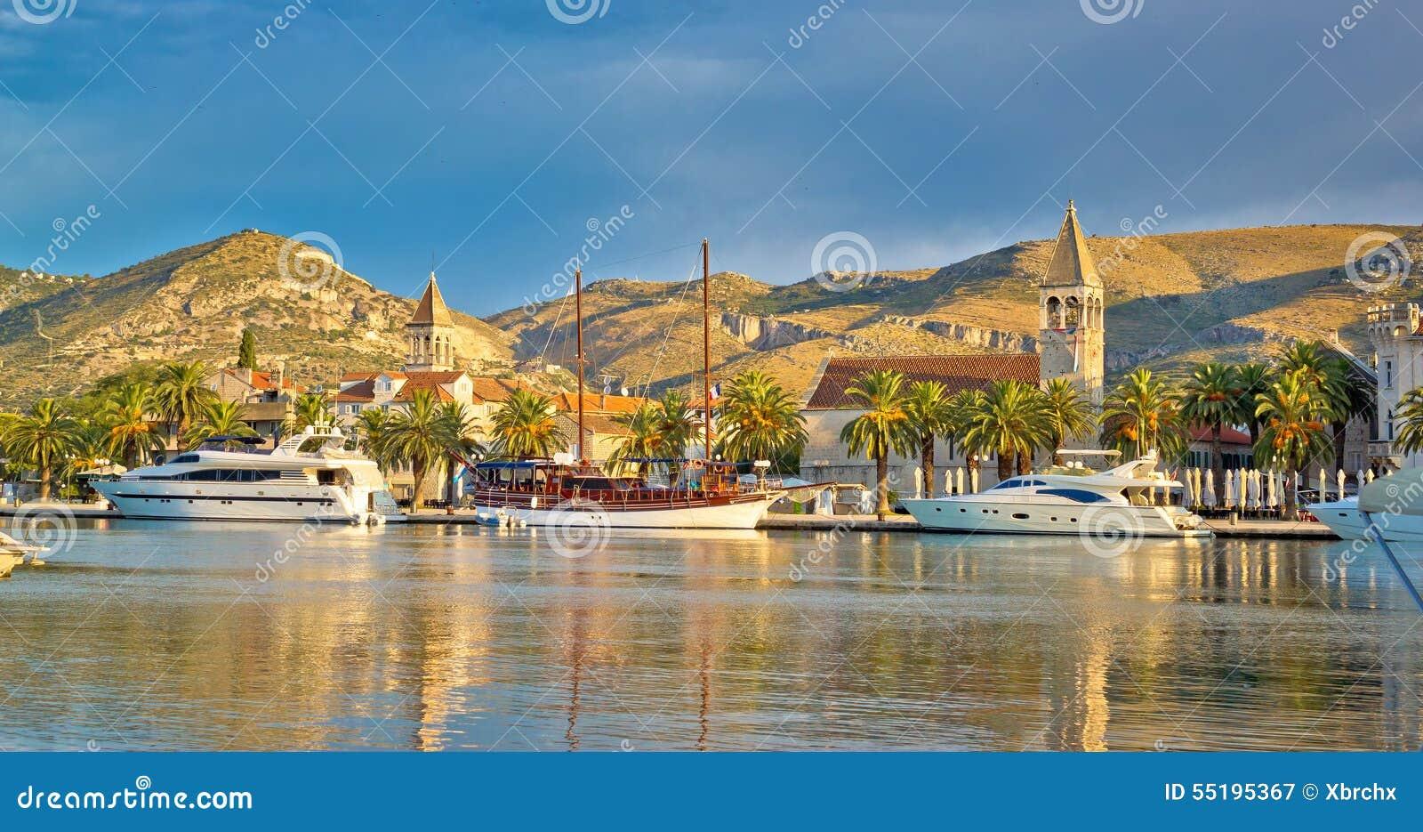 UNESCO miasto Trogir linia horyzontu
