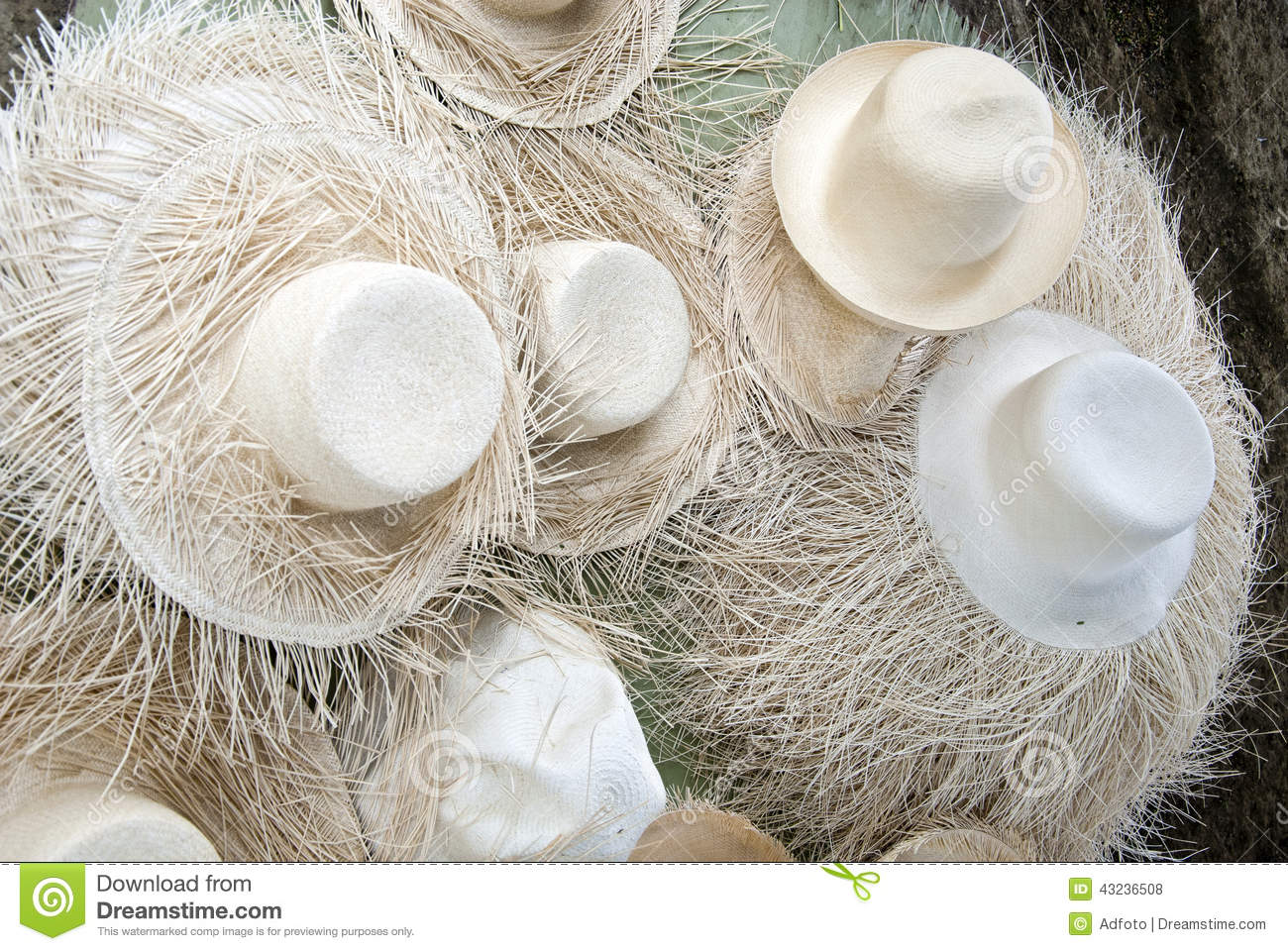 Unfinished Straw Hats