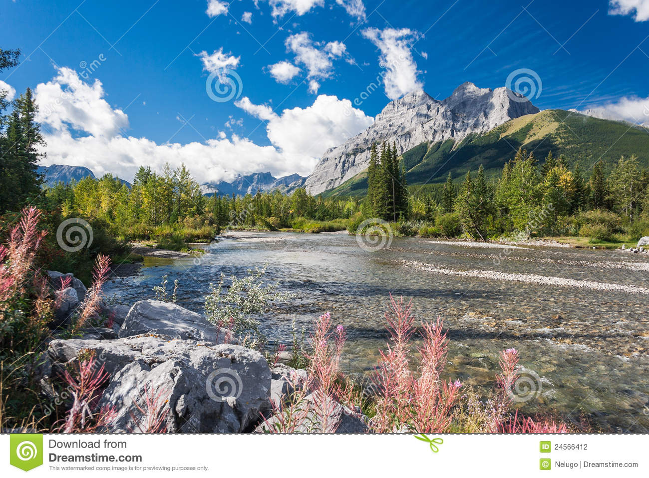 Unforgettable Canada-Kananaskis Country Stock Photography - Image ...