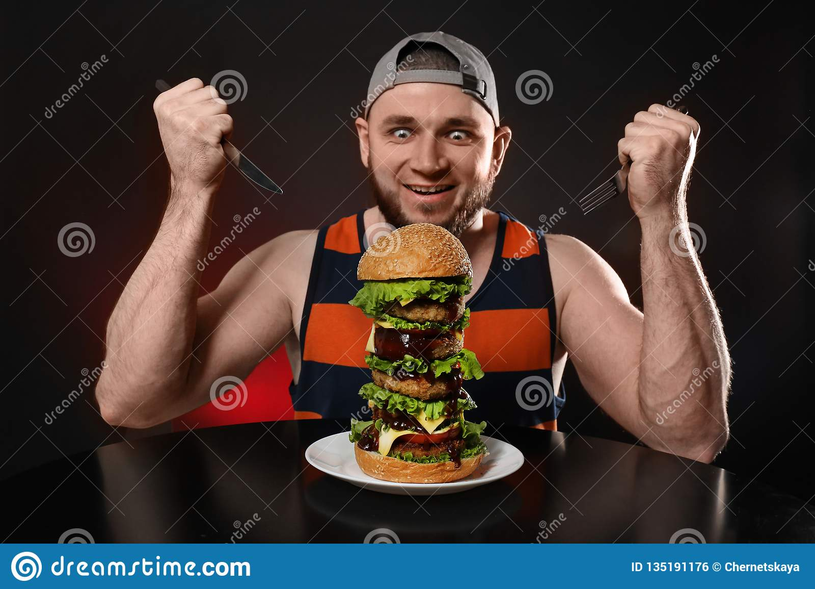 äta när man är hungrig