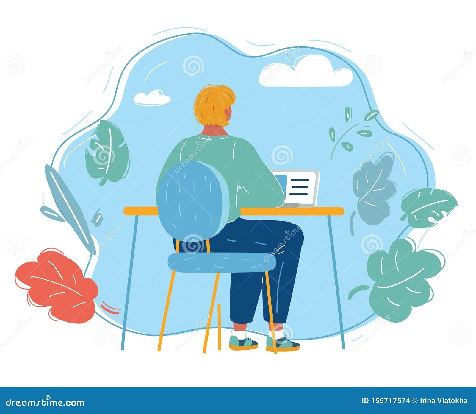 Ung kvinna som arbetar p? b?rbara datorn i kontoret