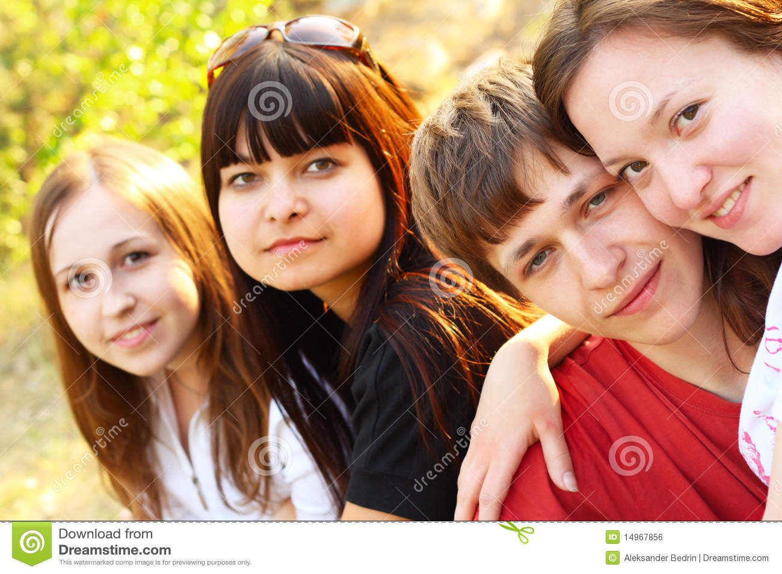 Unga gruppmän