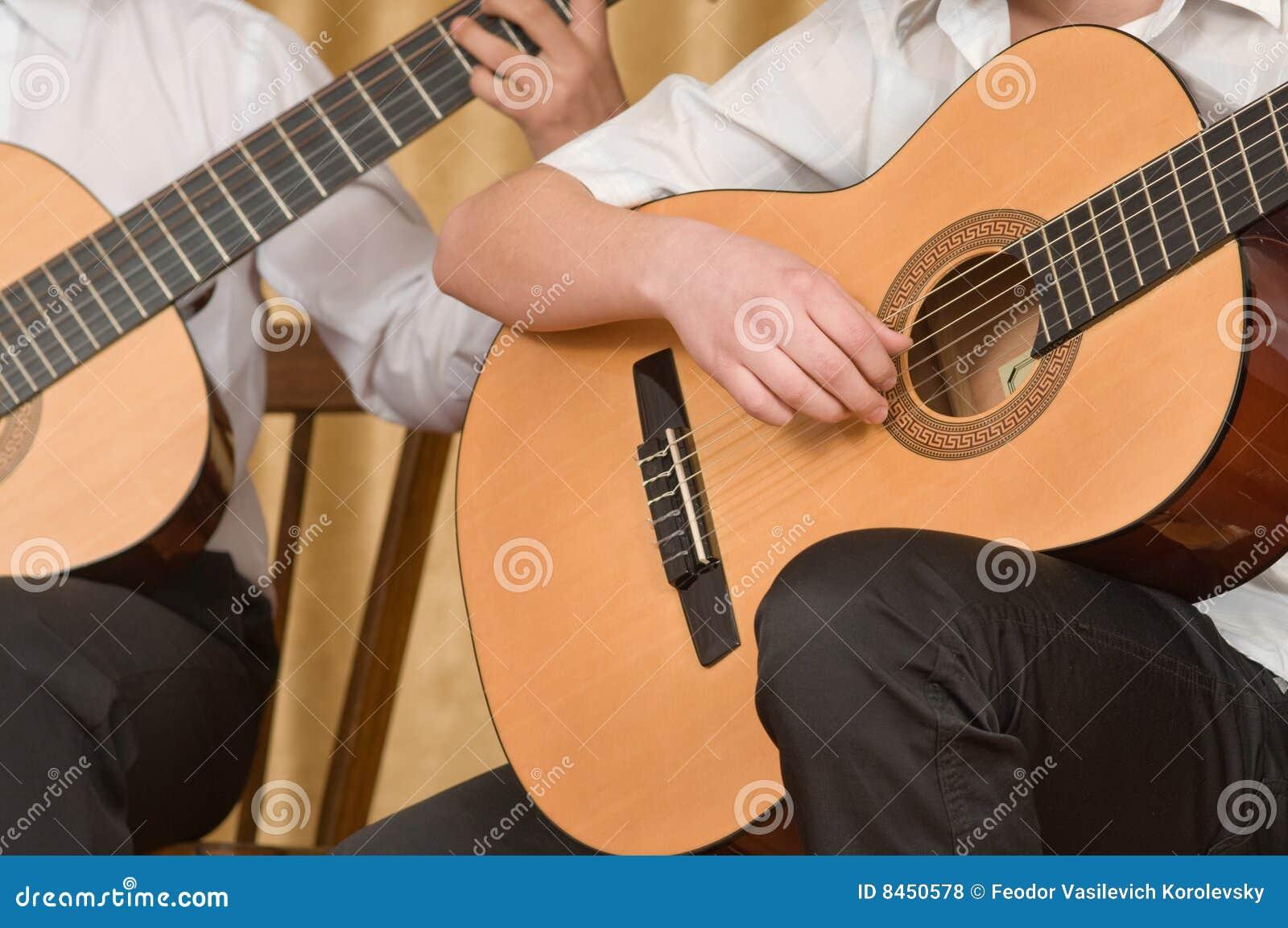 Unga konsertgitarrister