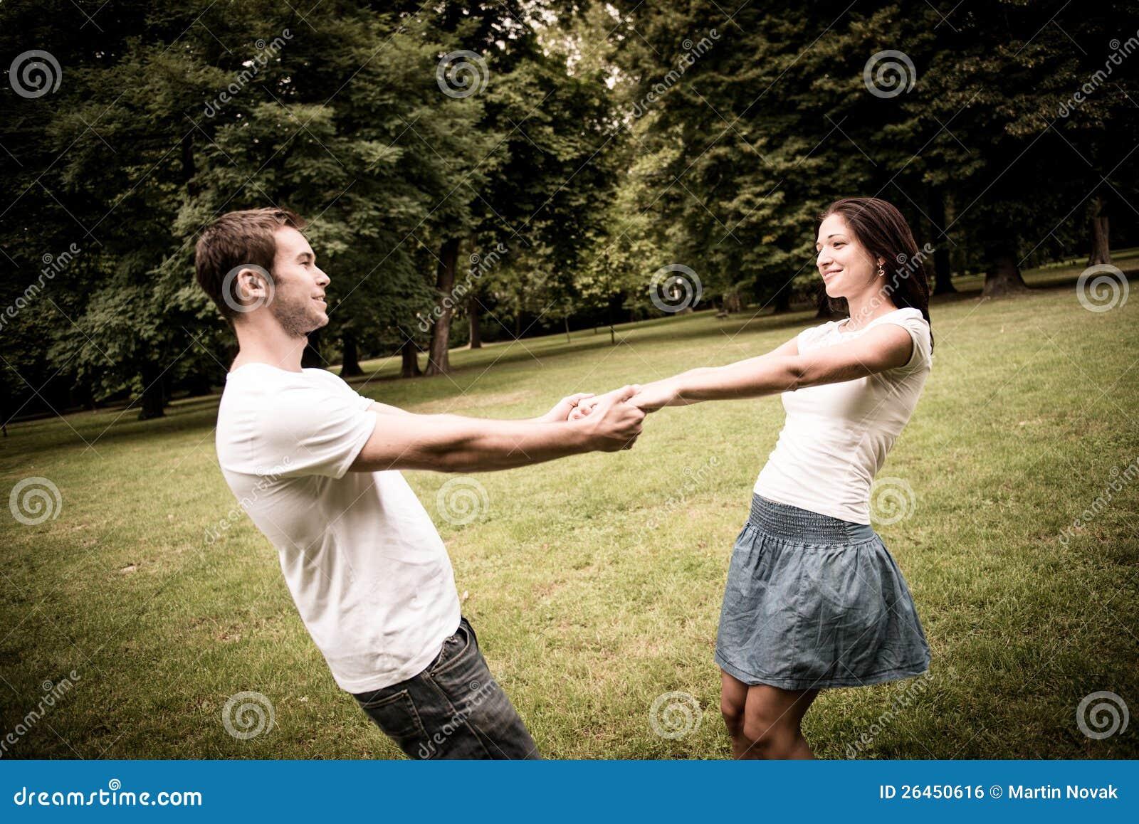 Unga par som har stor tid